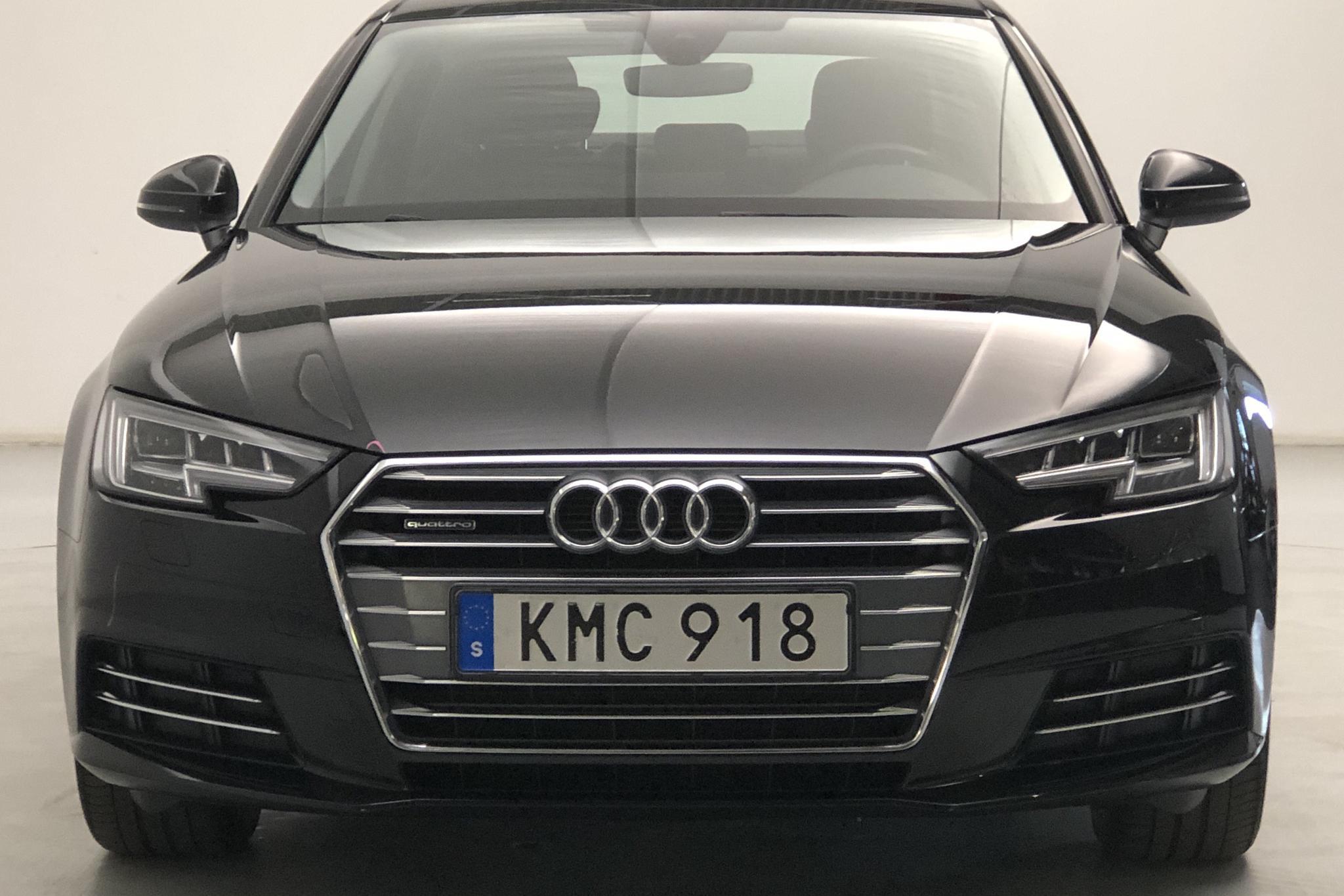 Audi A4 2.0 TDI quattro (190hk) - 4 638 mil - Automat - svart - 2018