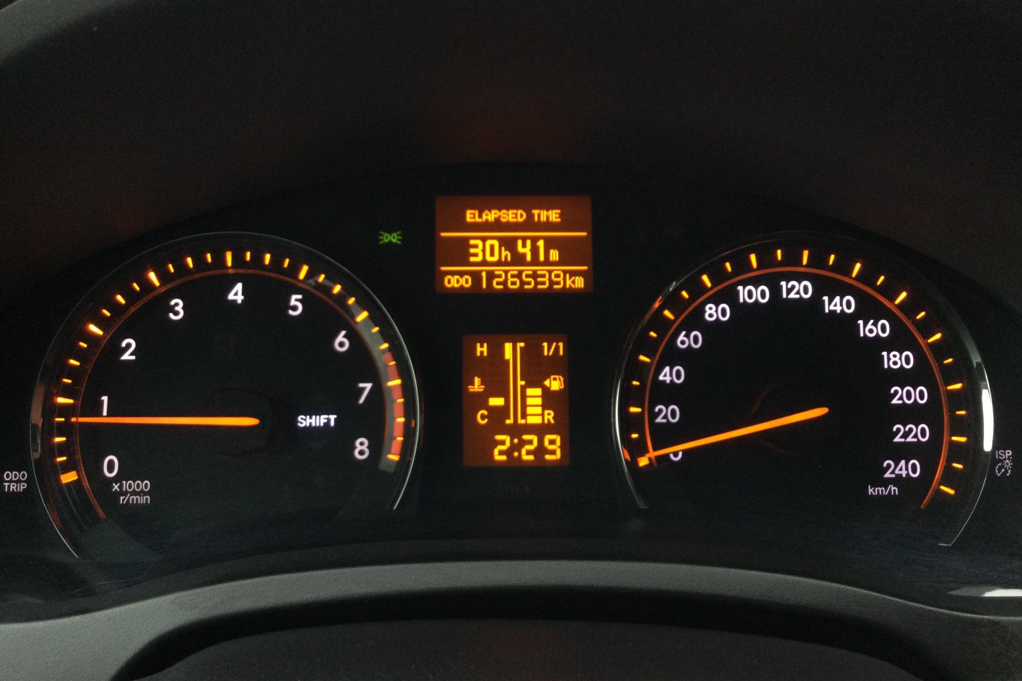 Toyota Avensis 1.8 Kombi (147hk) - 126 530 km - Manual - silver - 2011