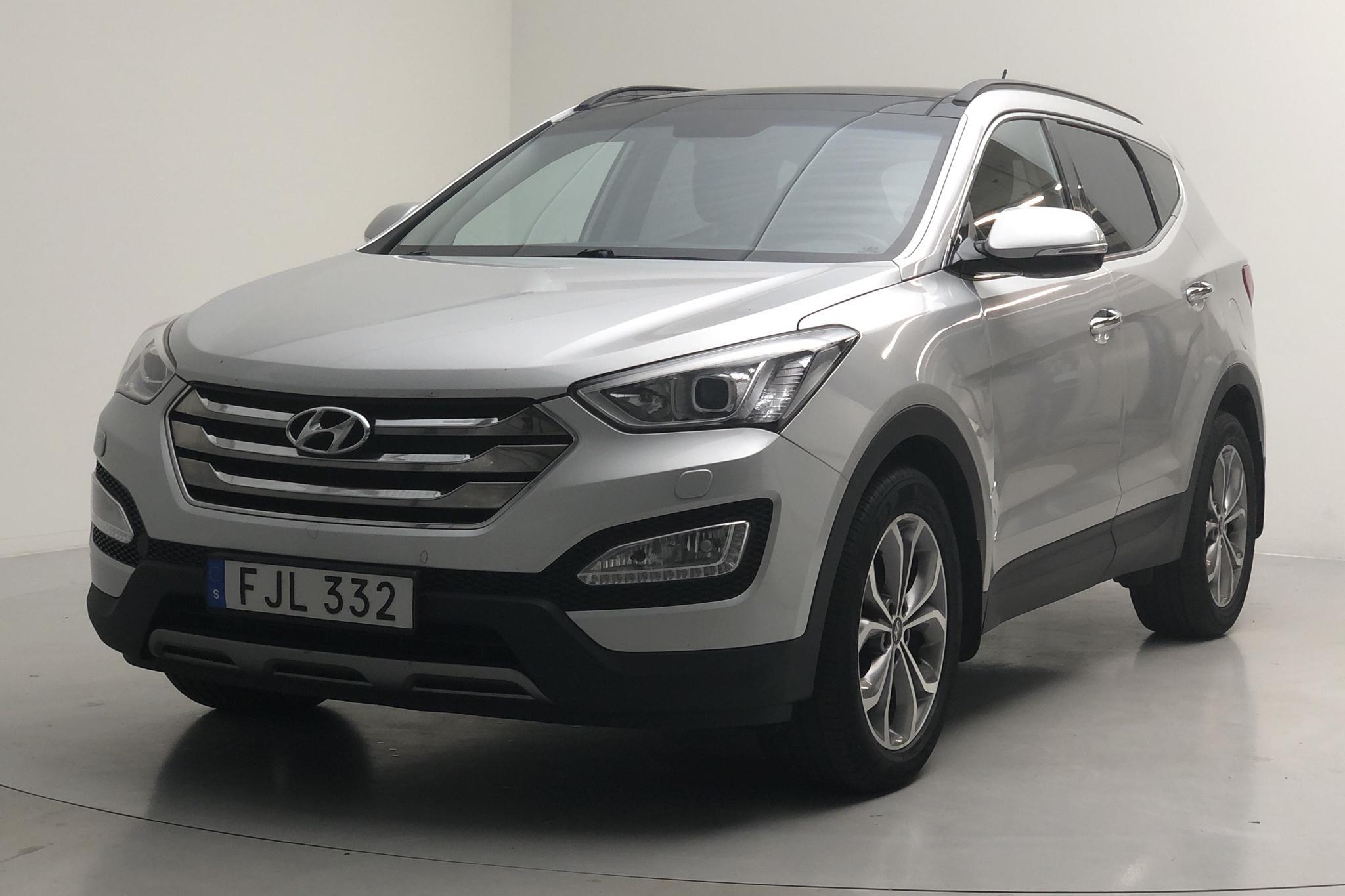 Hyundai Santa Fé 2.2 CRDi-R 4WD (197hk) - 219 570 km - Automatic - silver - 2014