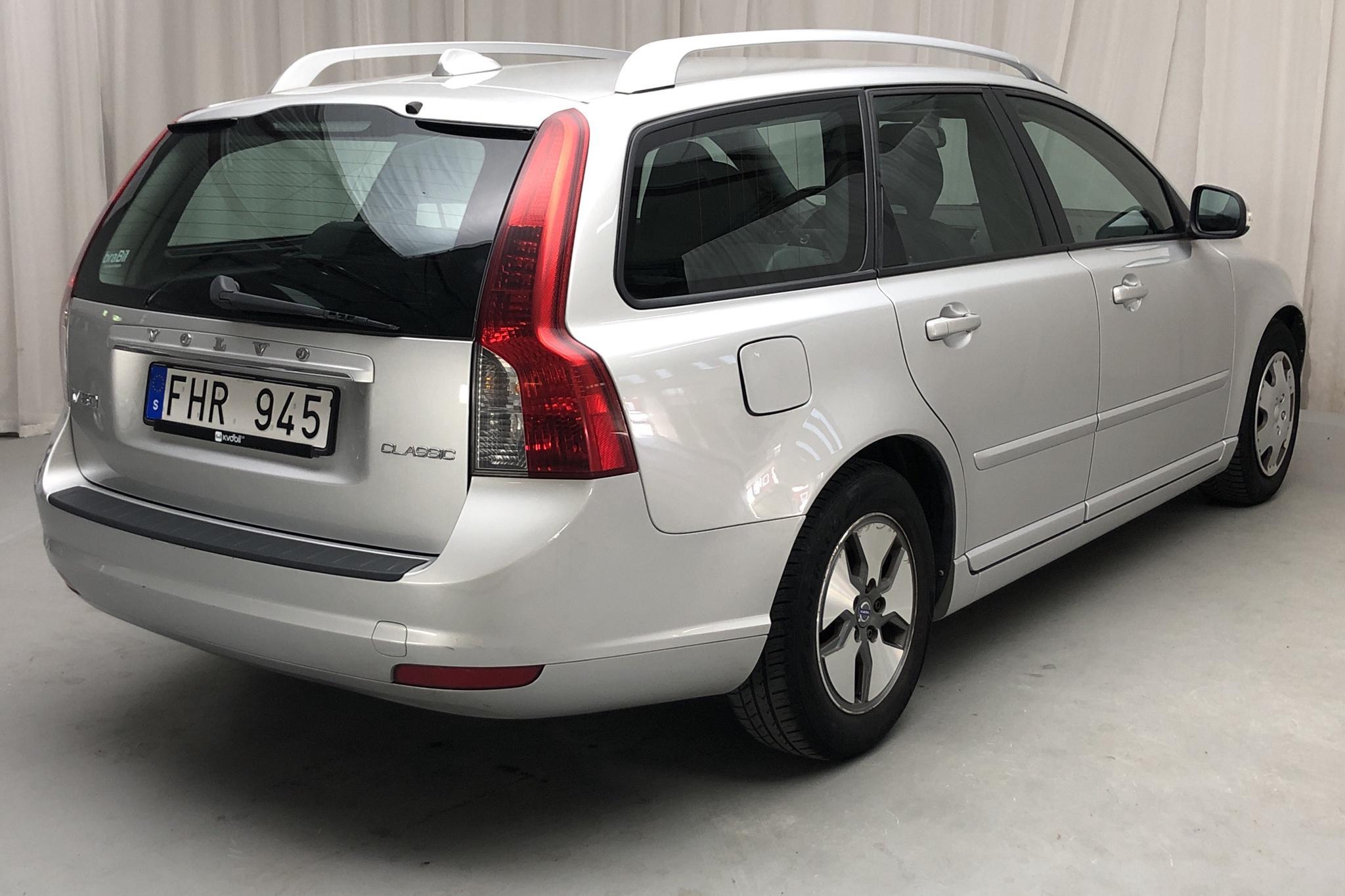Volvo V50 D2 (115hk) - 17 139 mil - Manuell - Light Grey - 2012
