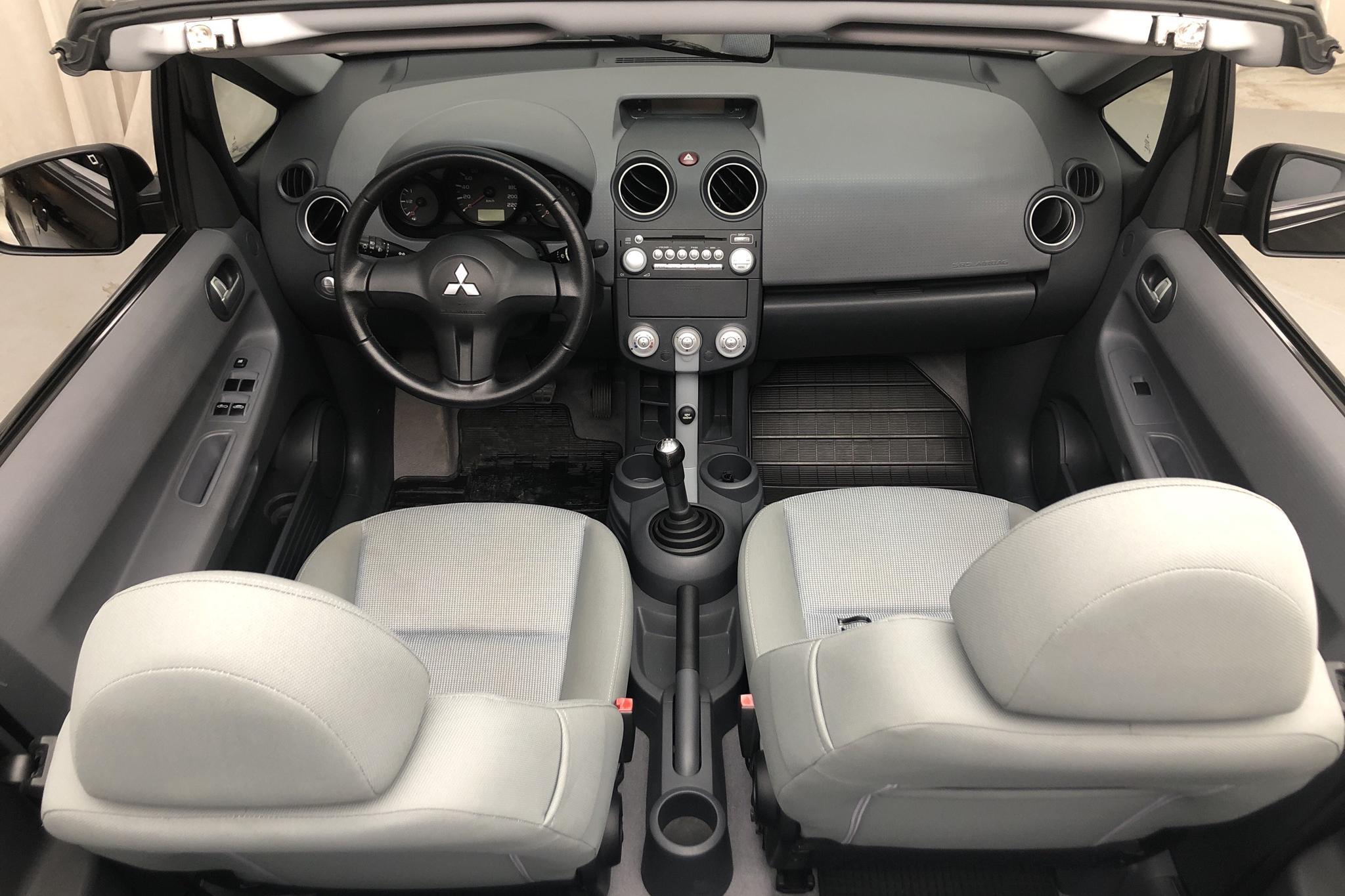 Mitsubishi Colt 1.5 Cabriolet (109hk) - 65 660 km - Manual - black - 2007