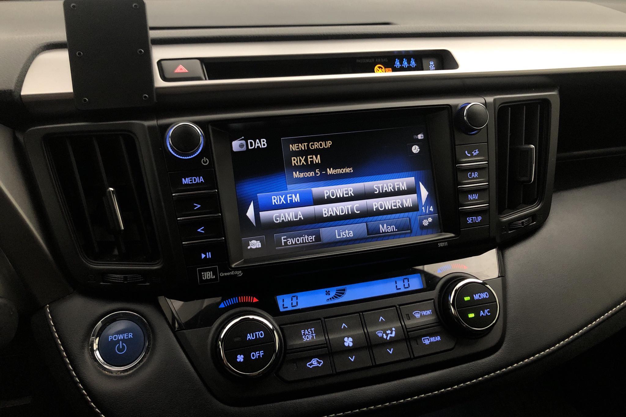 Toyota RAV4 2.5 HSD AWD (197hk) - 86 250 km - Automatic - Dark Grey - 2018