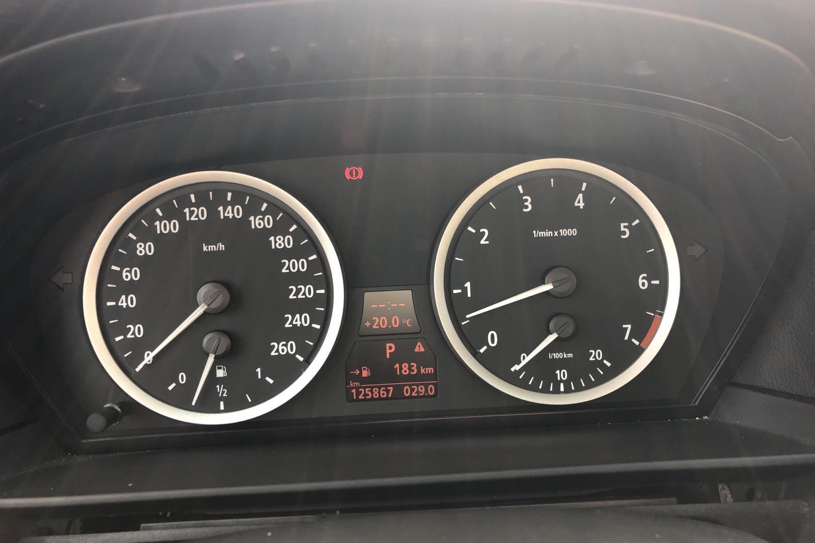 BMW 530i Sedan, E60 (231hk) - 230 000 km - Automatic - black - 2003