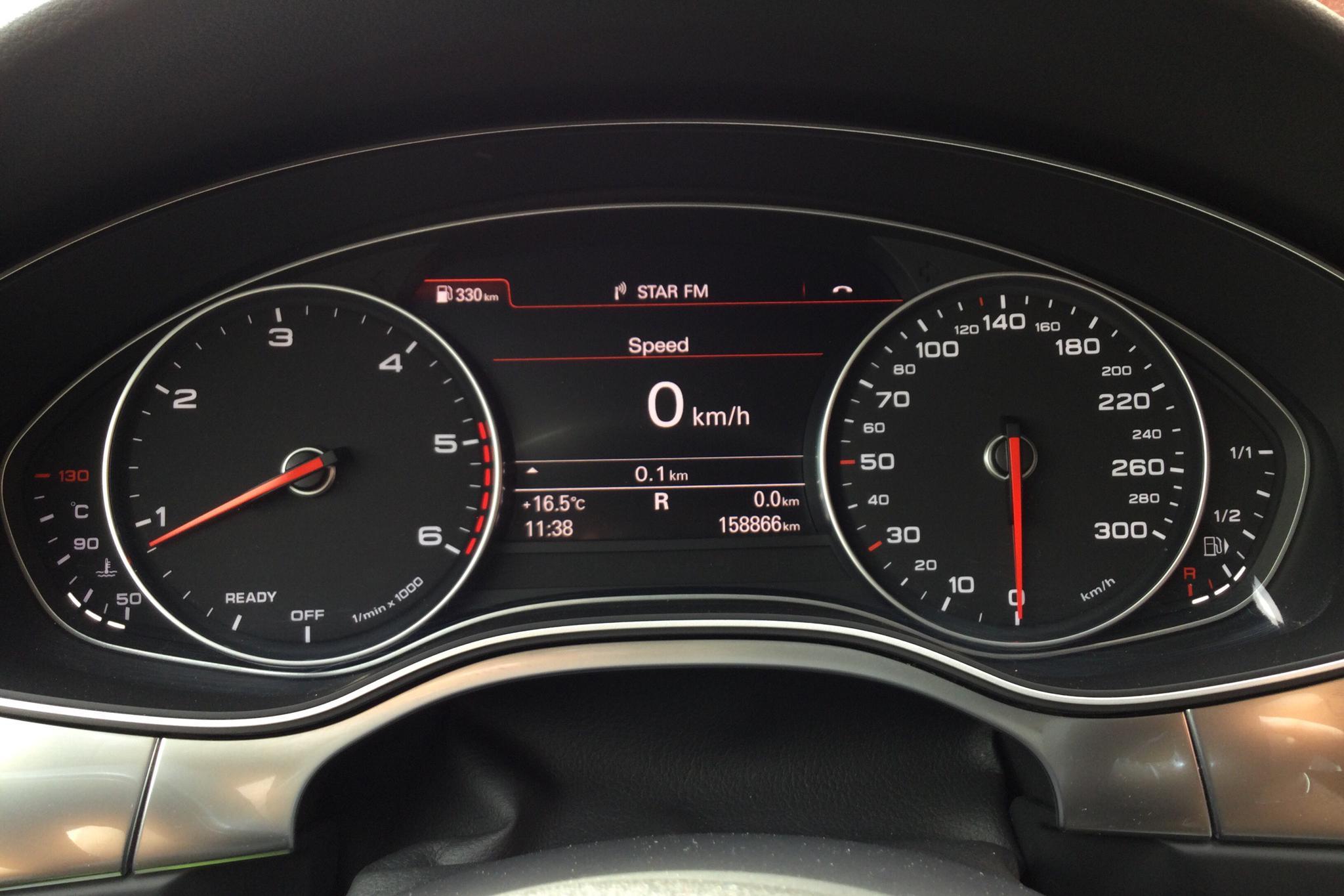 Audi A6 2.0 TDI Avant quattro (190hk) - 158 860 km - Automatic - black - 2017