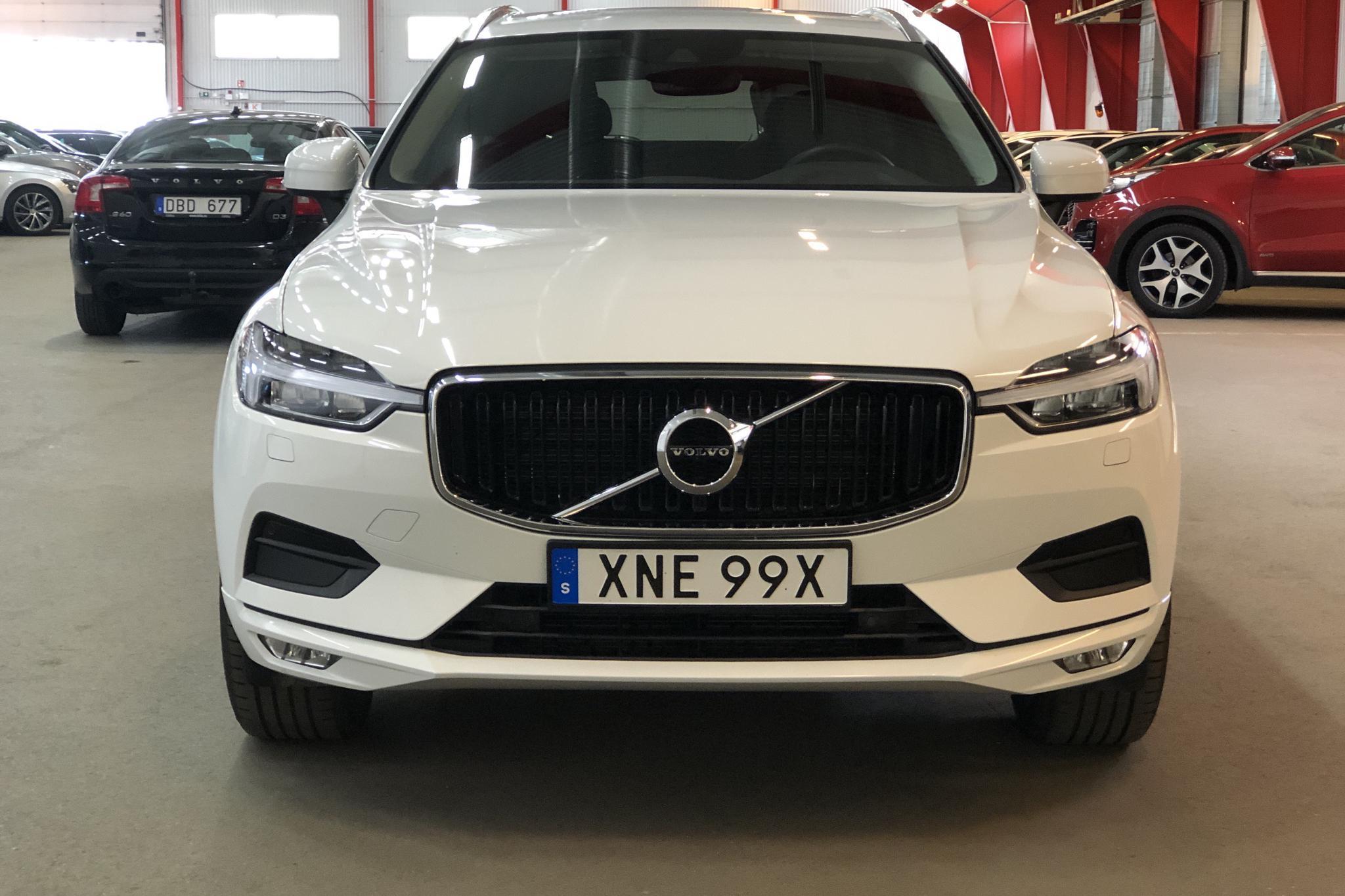 Volvo XC60 B4 AWD Mildhybrid, Diesel (197hk) - 34 230 km - Automatic - white - 2021