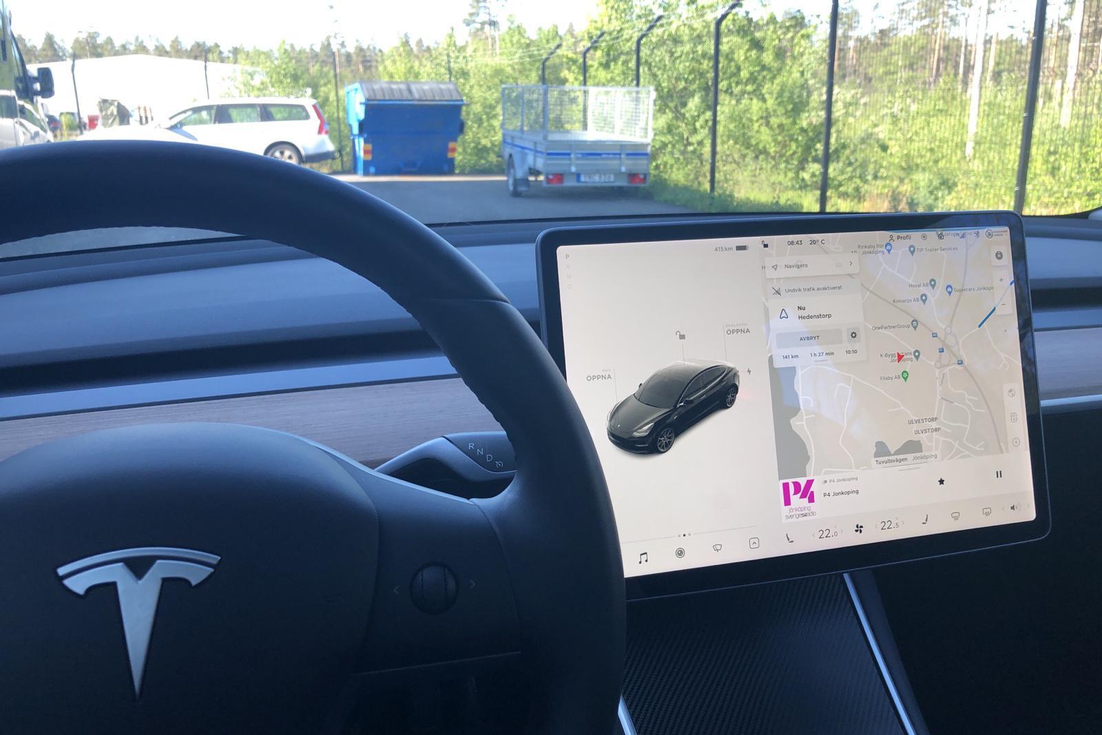 Tesla Model 3 Long Range AWD - 5 182 mil - Automat - svart - 2019