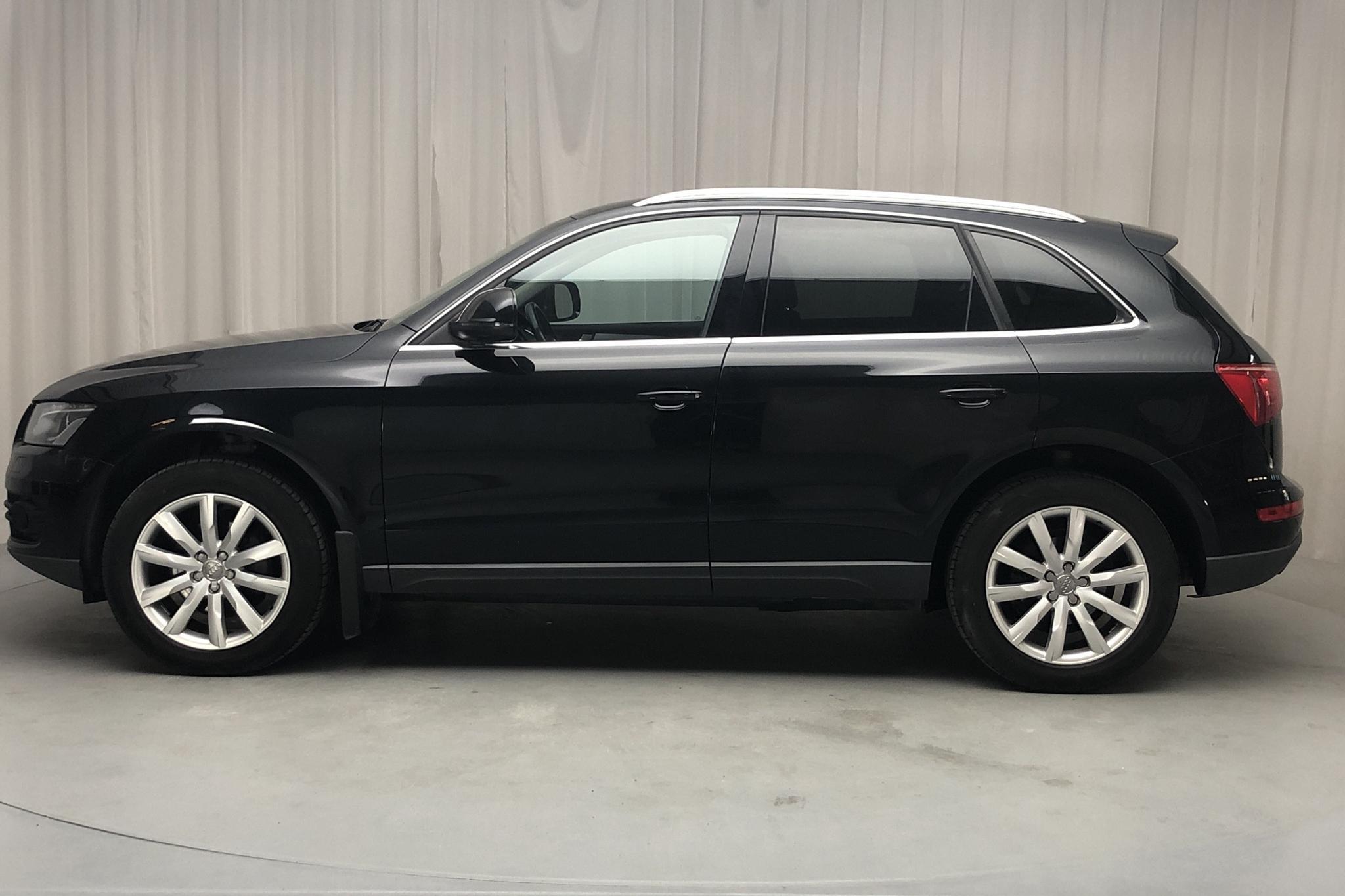 Audi Q5 2.0 TDI quattro (170hk) - 17 543 mil - Automat - svart - 2012