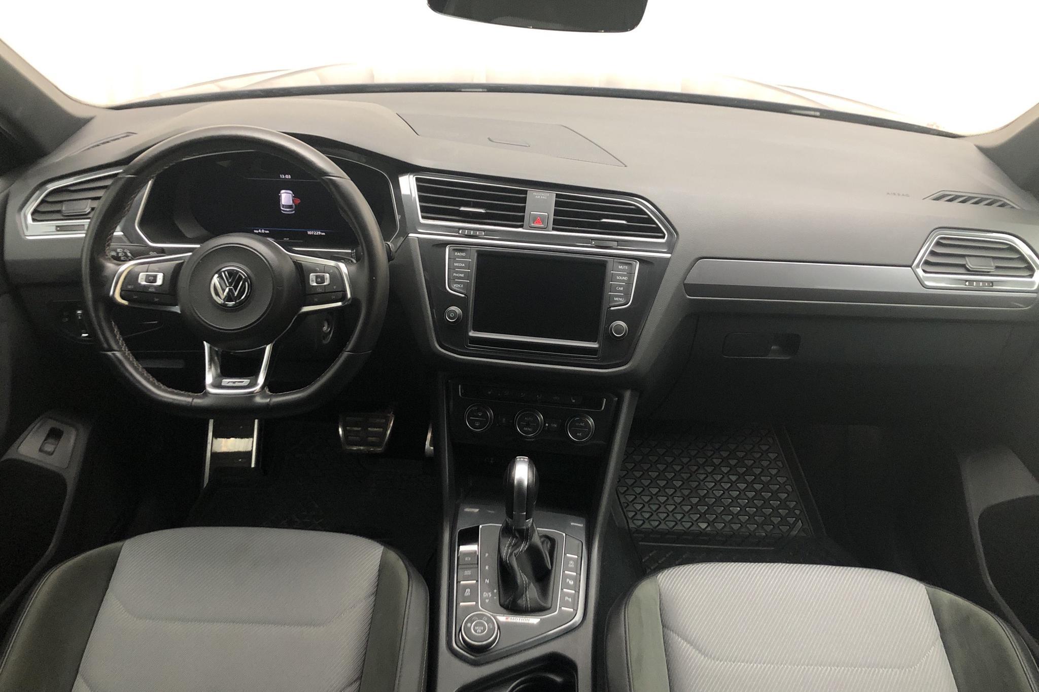 VW Tiguan 2.0 TDI 4MOTION (240hk) - 107 220 km - Automatic - Dark Blue - 2017