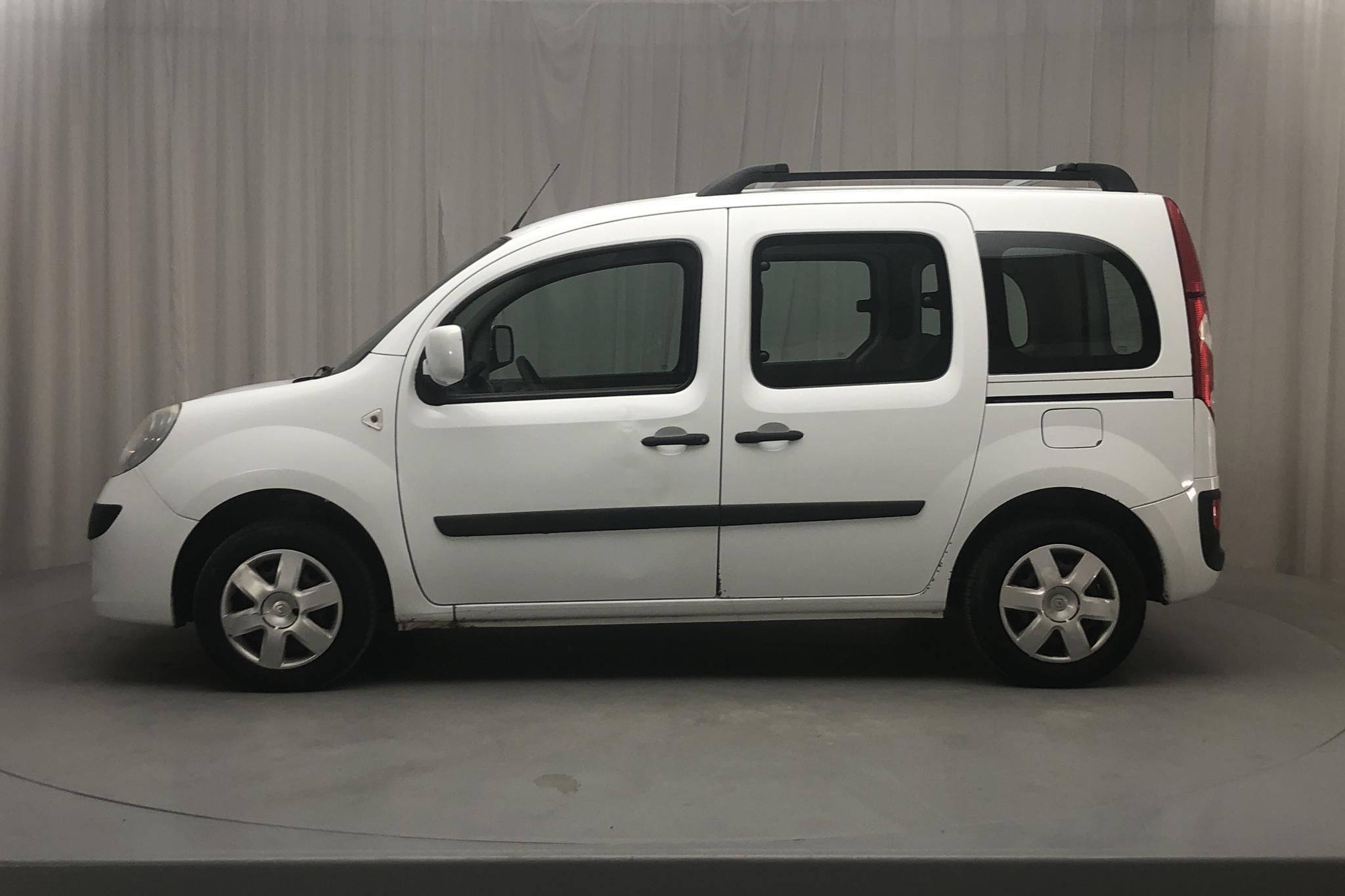 Renault Kangoo Express Passanger II 1.5 dCi FAP (105hk) - 221 890 km - Manual - white - 2010