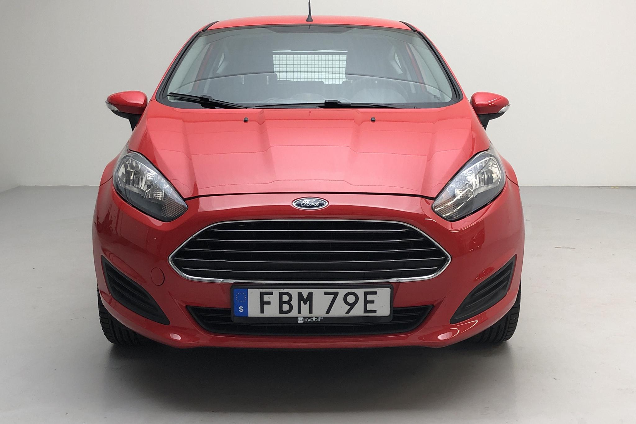 Ford Fiesta 1.25 3dr (60hk) - 47 720 km - Manual - red - 2013