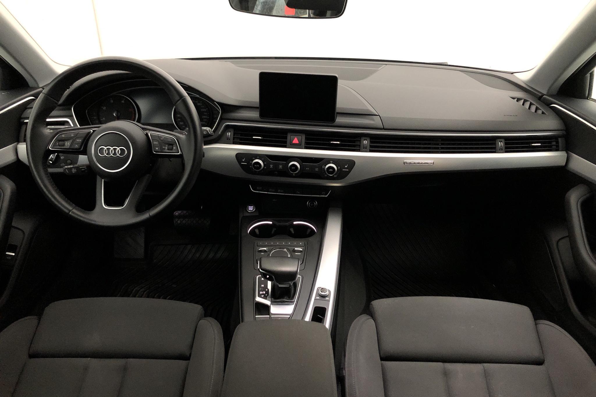 Audi A4 Avant 40 TDI quattro (190hk) - 38 740 km - Automatic - silver - 2019
