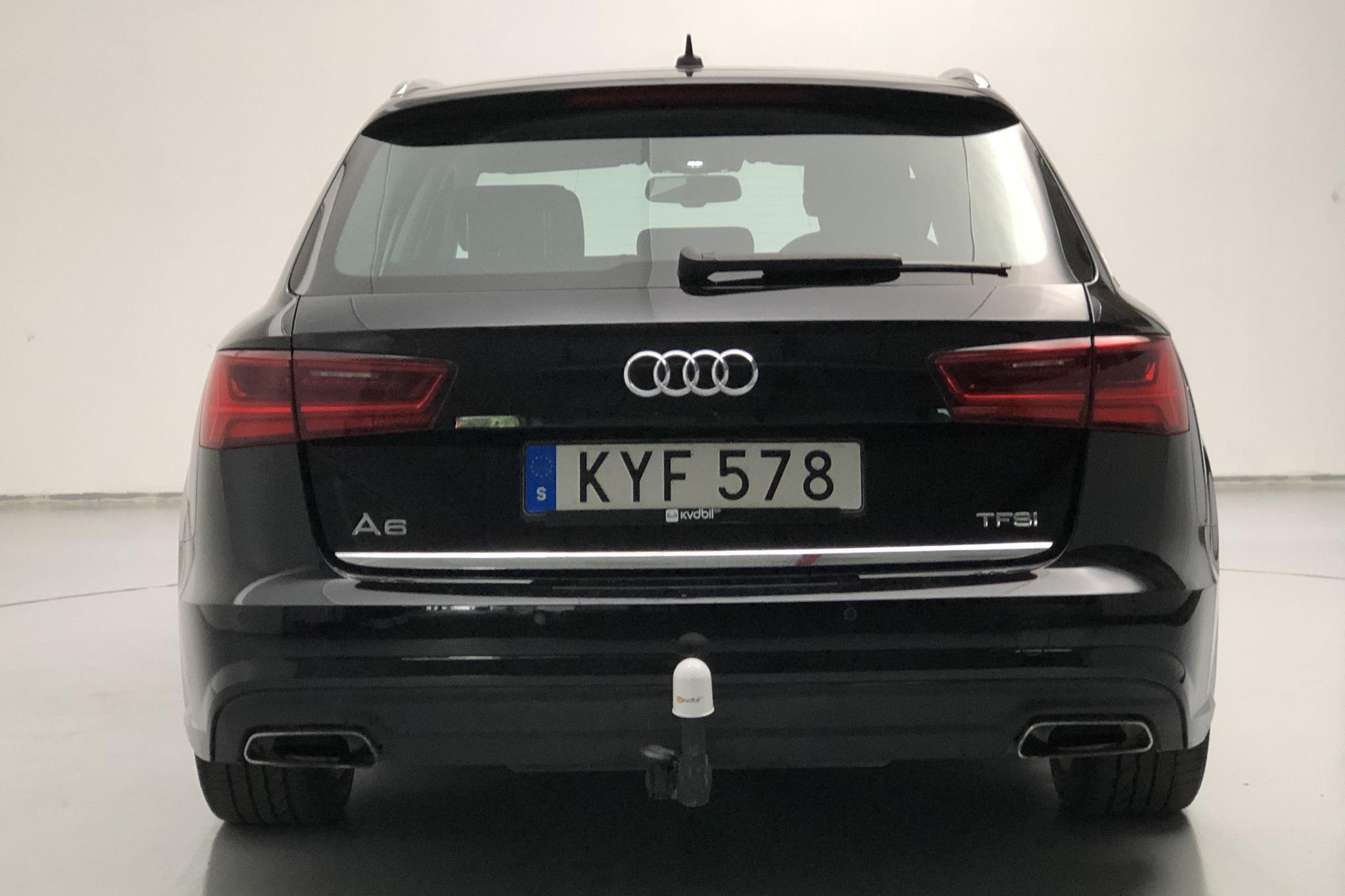 Audi A6 1.8 TFSI Avant (190hk) - 10 018 mil - Automat - svart - 2018