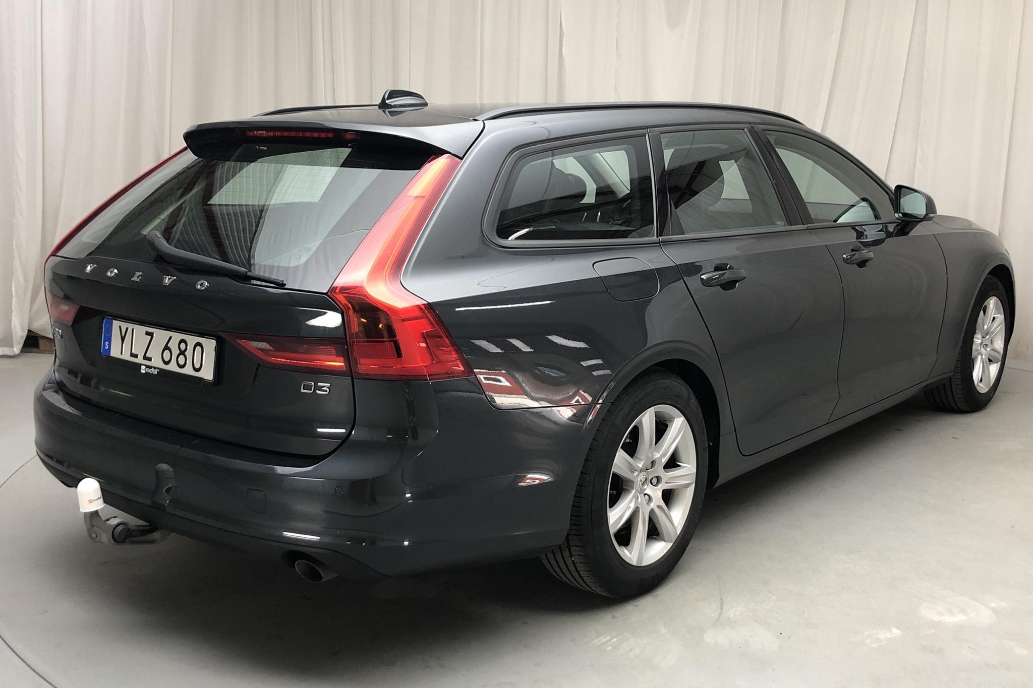 Volvo V90 D3 (150hk) - 8 792 mil - Automat - grå - 2018