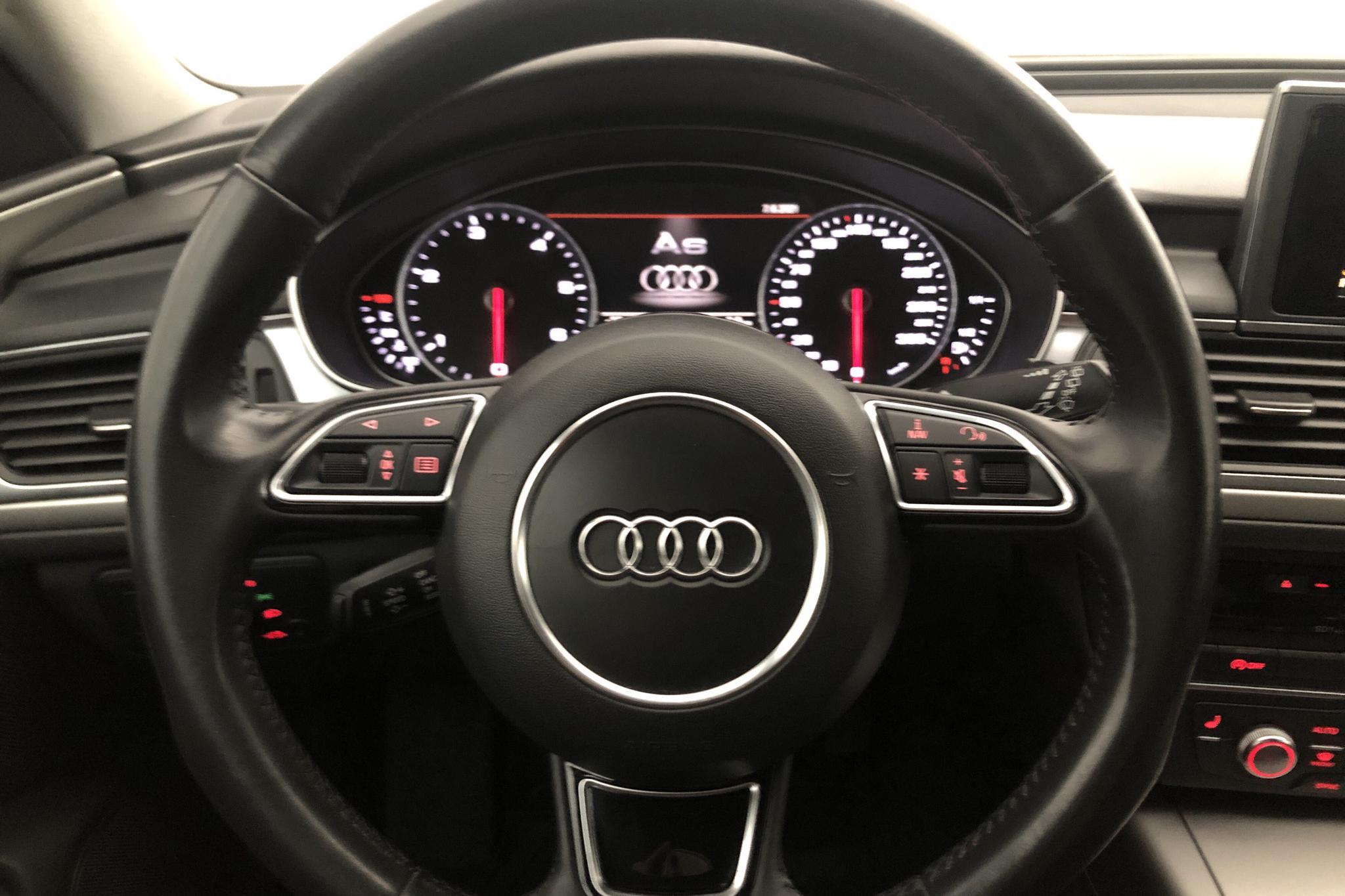Audi A6 3.0 TDI Avant quattro (204hk) - 155 080 km - Automatic - silver - 2014