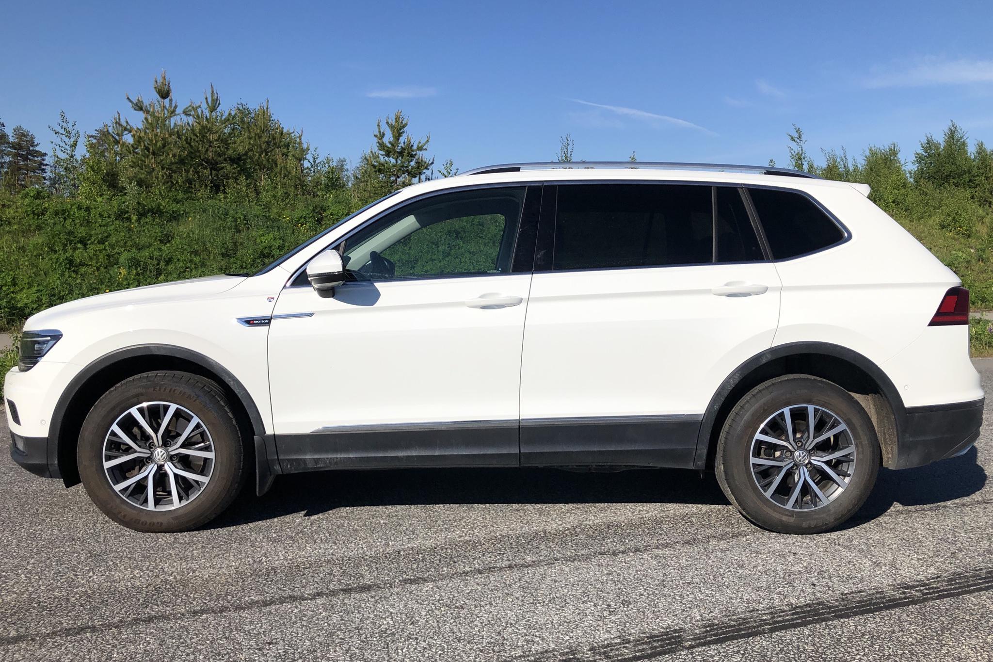 VW Tiguan Allspace 2.0 TSI 4MOTION (180hk) - 7 254 mil - Automat - vit - 2018