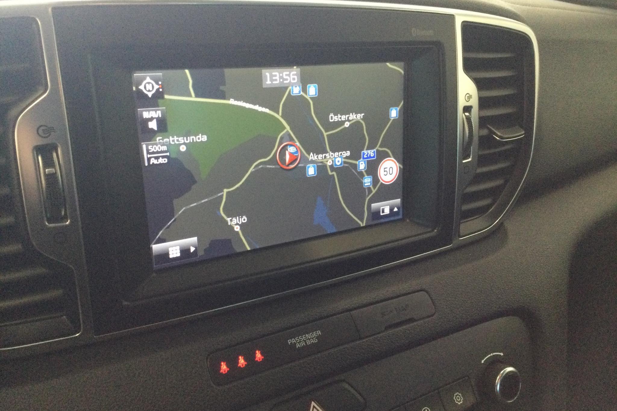 KIA Sportage 2.0 CRDi AWD (184hk) - 8 885 mil - Automat - svart - 2016