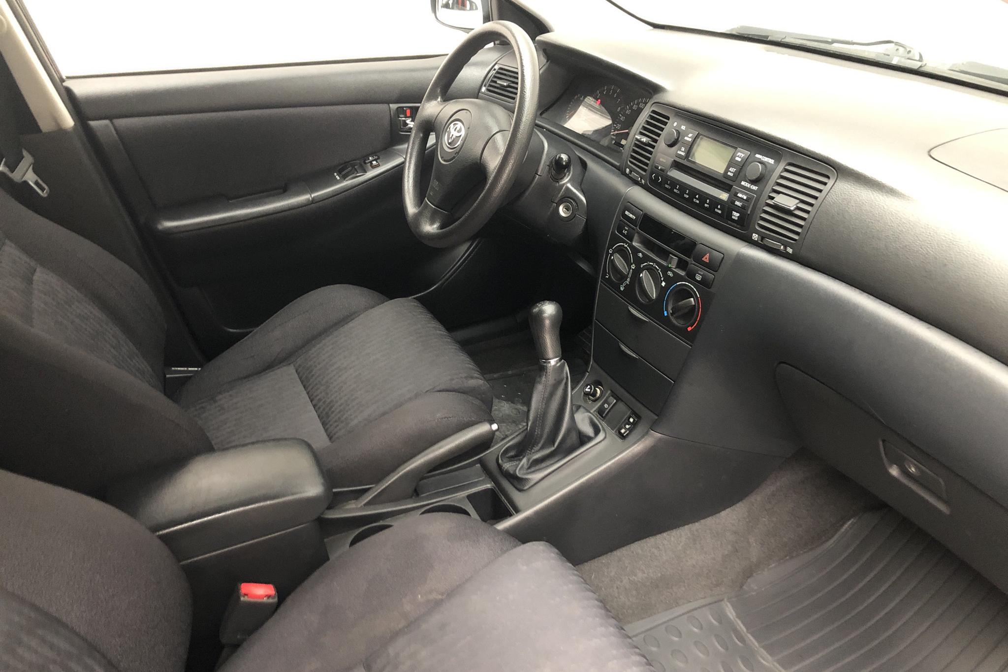 Toyota Corolla 1.4 5dr (97hk) - 18 278 mil - Manuell - Dark Green - 2003