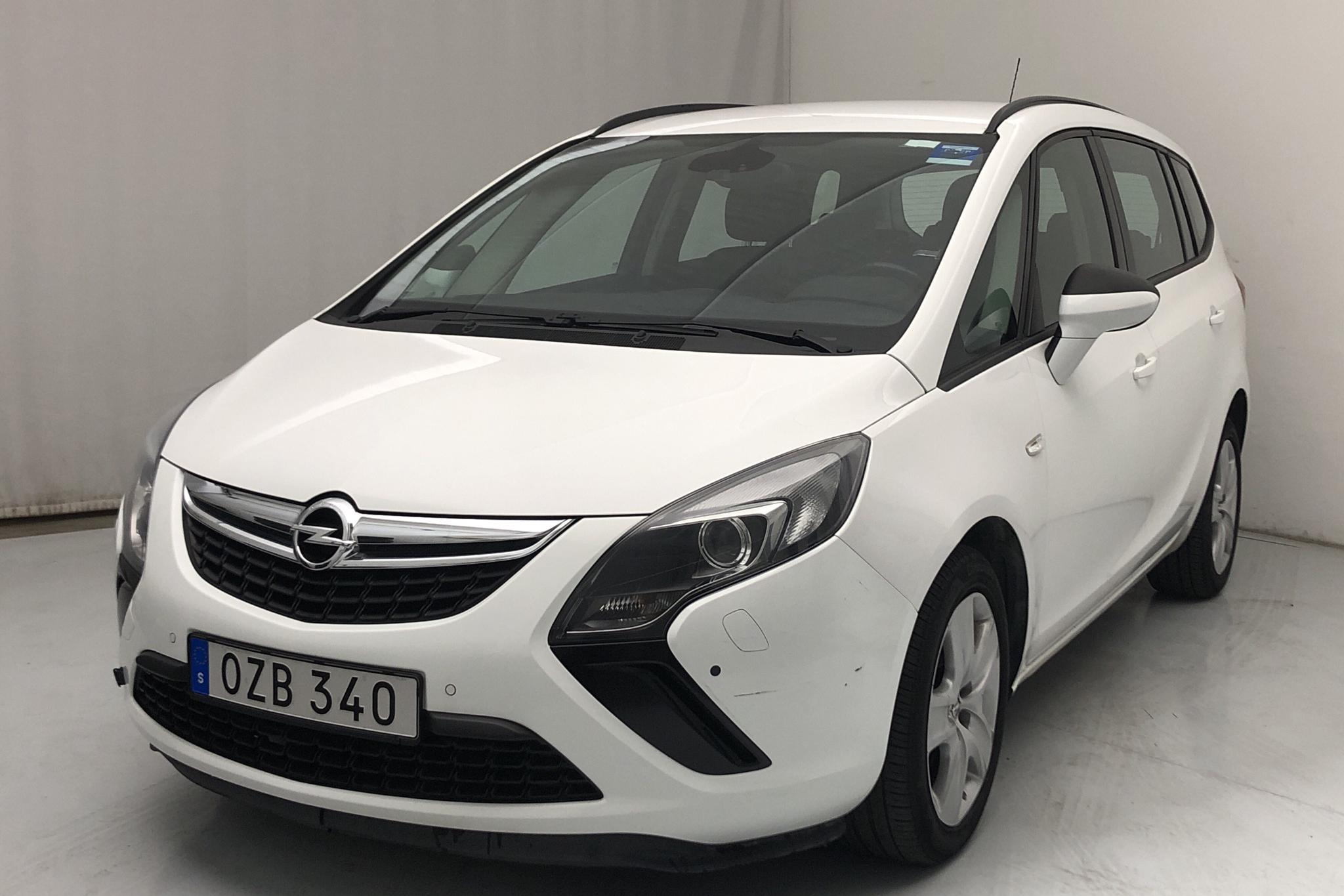 Opel Zafira Tourer 1.6 CNG ecoFLEX (150hk)