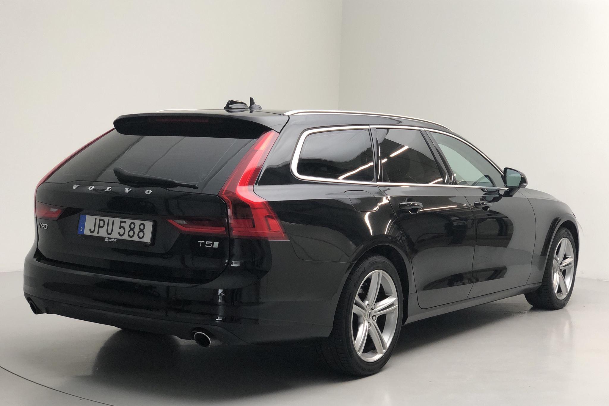 Volvo V90 T5 (254hk) - 18 065 mil - Automat - svart - 2018