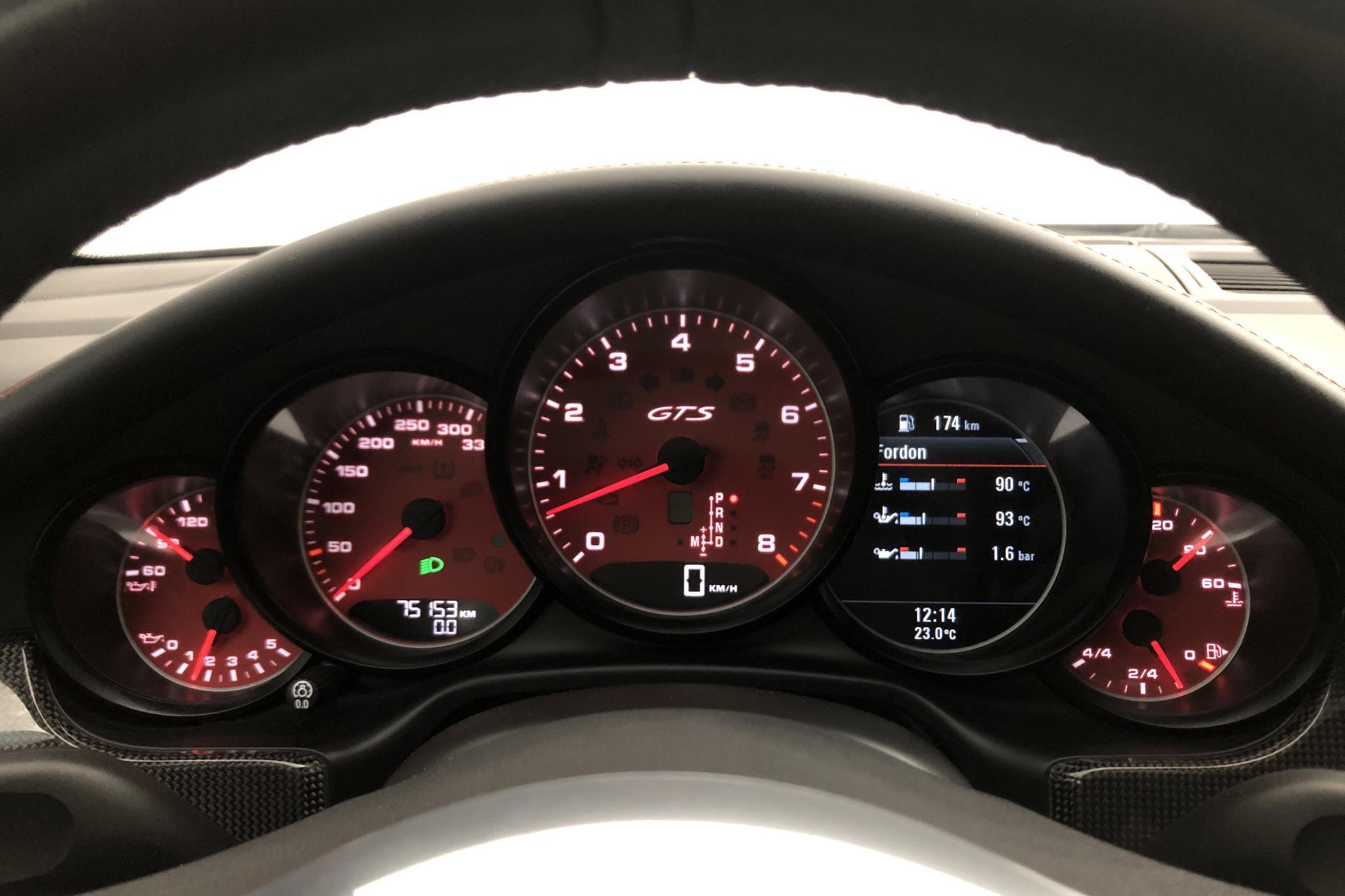 Porsche Panamera GTS (440hk) - 75 150 km - Automatic - silver - 2014