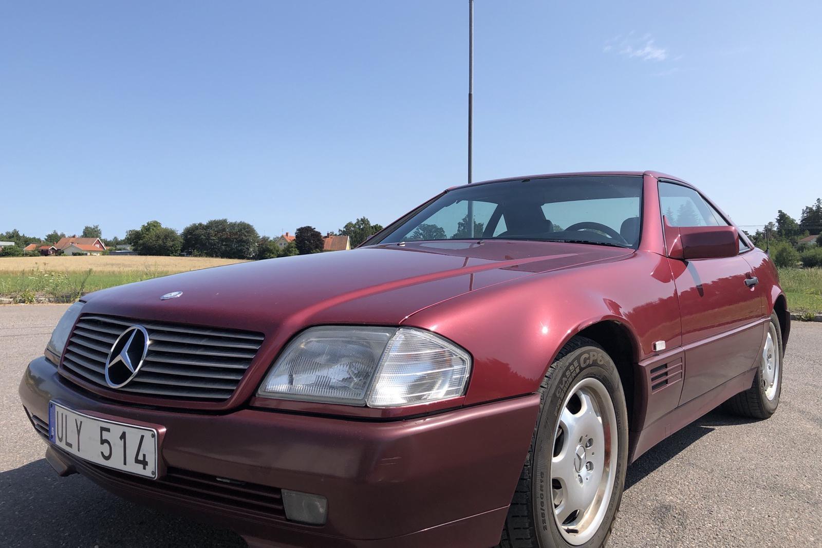 Mercedes SL 500 R129 (320hk) - 152 810 km - Automatic - red - 1994