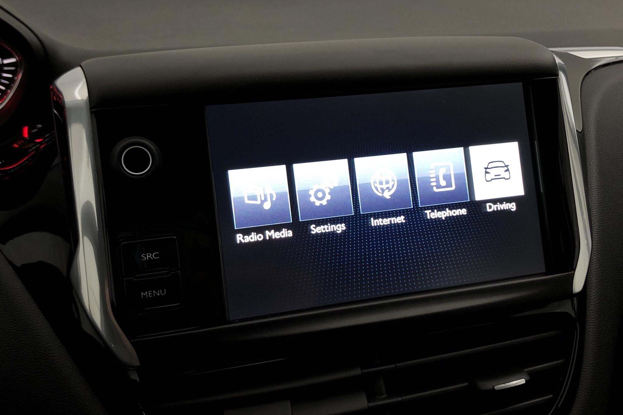 Peugeot 208 1.2 VTi 5dr (82hk) - 68 830 km - Manual - black - 2015