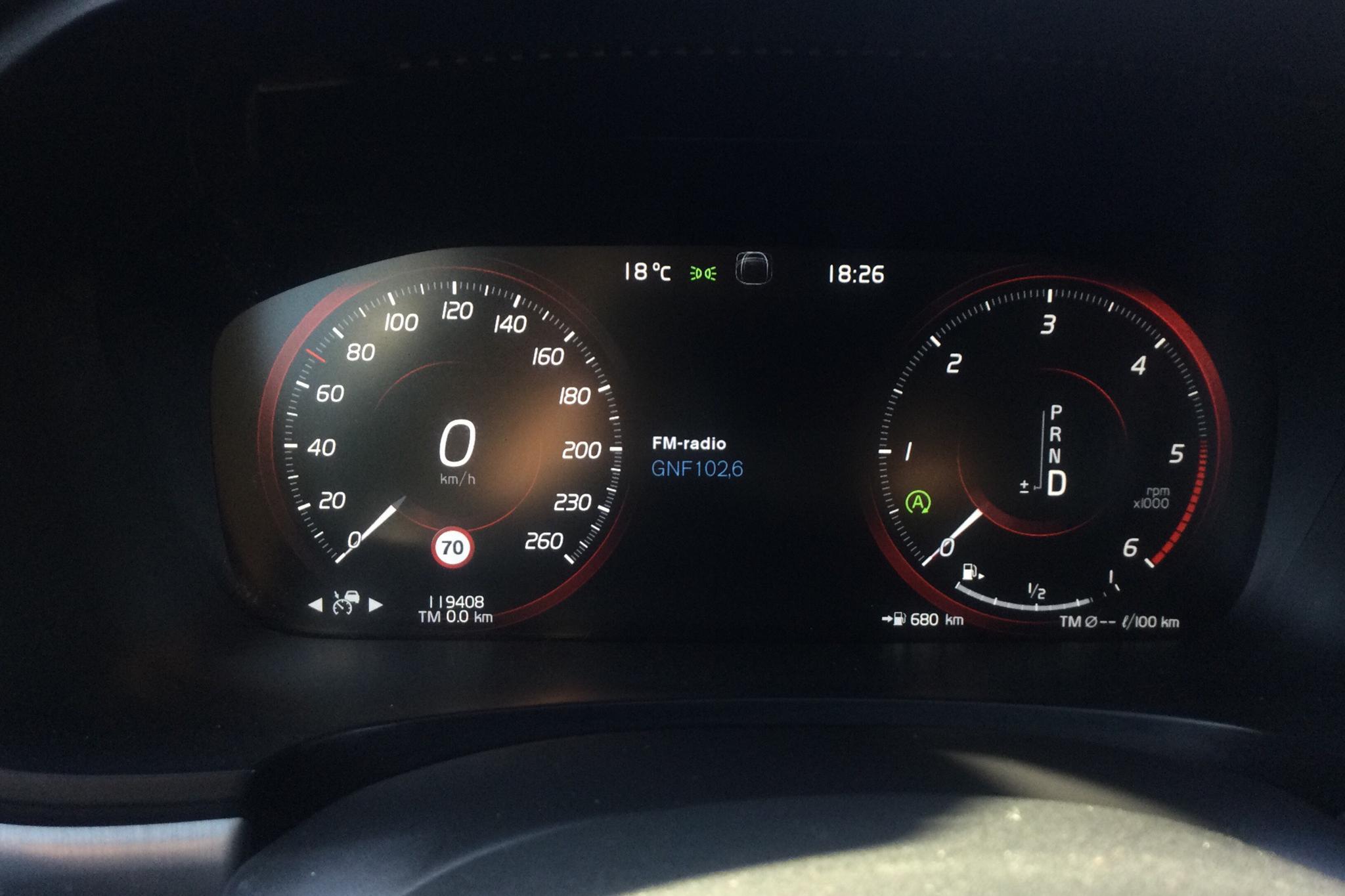 Volvo V90 D4 (190hk) - 119 400 km - Automatic - gray - 2019