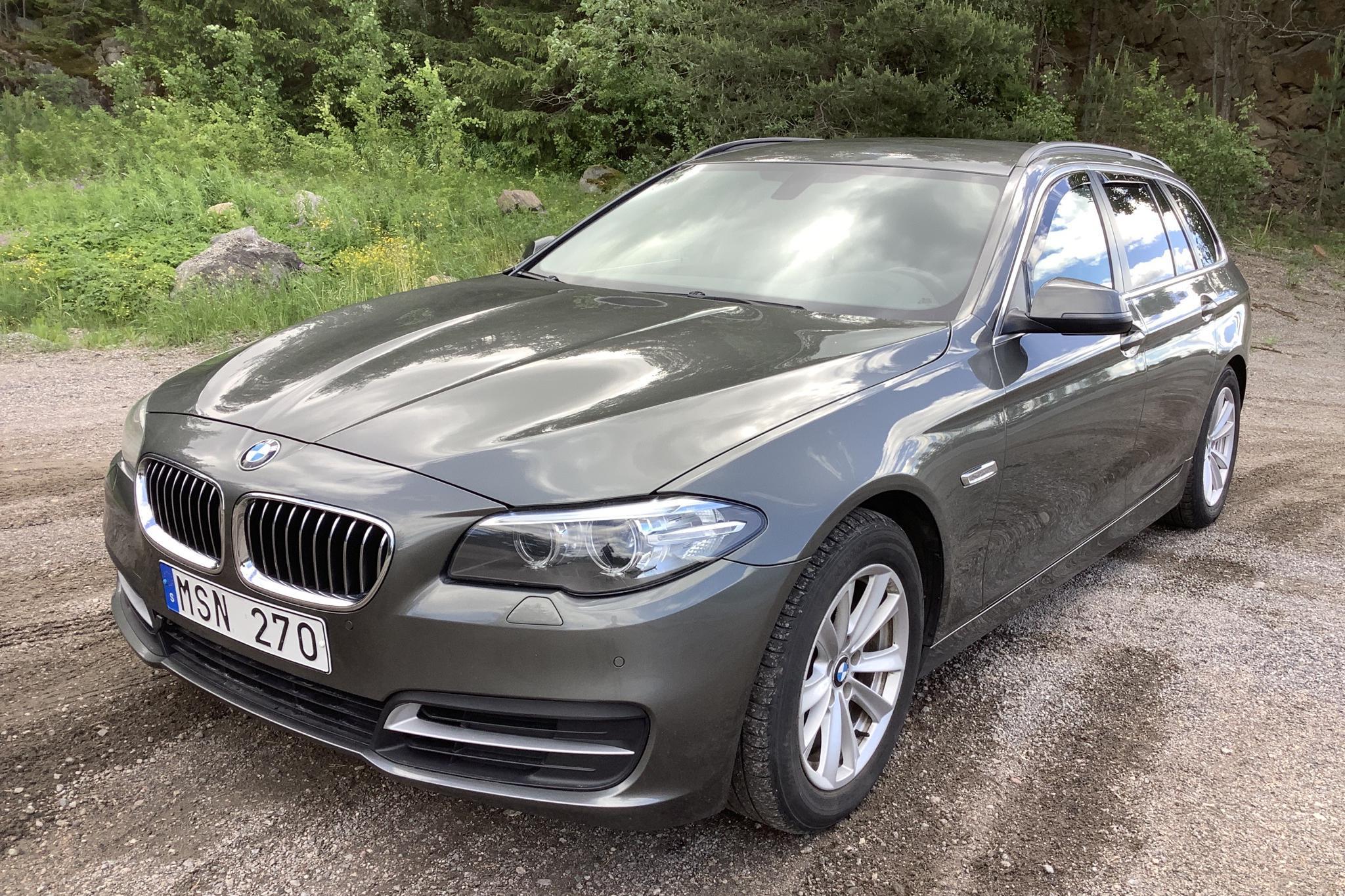 BMW 518d Touring, F11 (143hk)