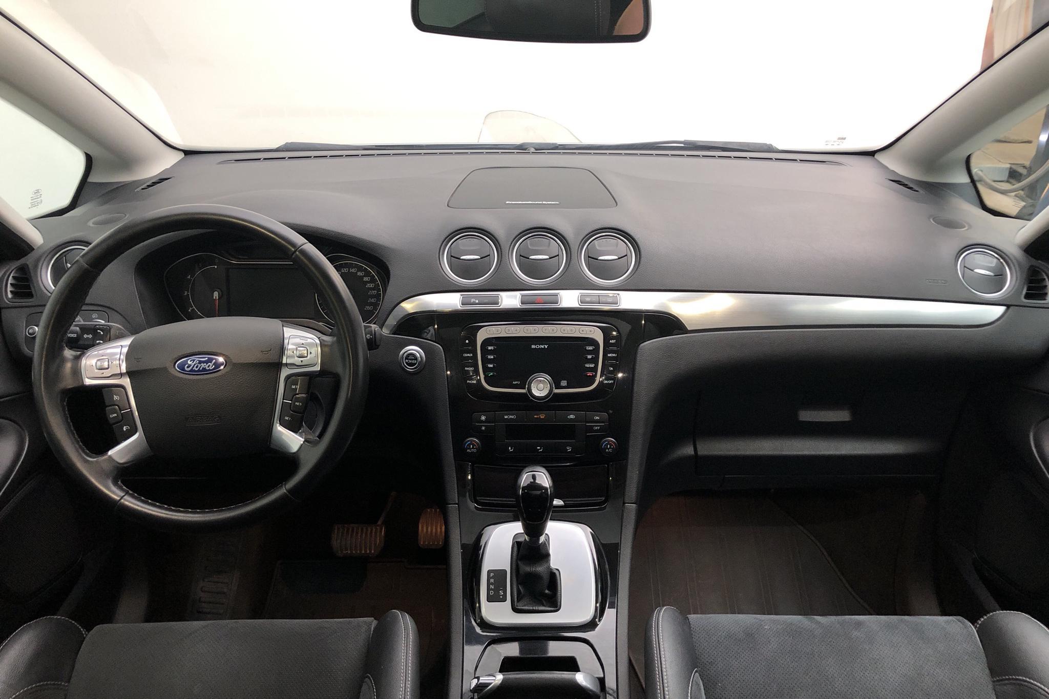 Ford S-MAX 2.2 Duratorq TDCi (200hk) - 22 323 mil - Automat - grå - 2011