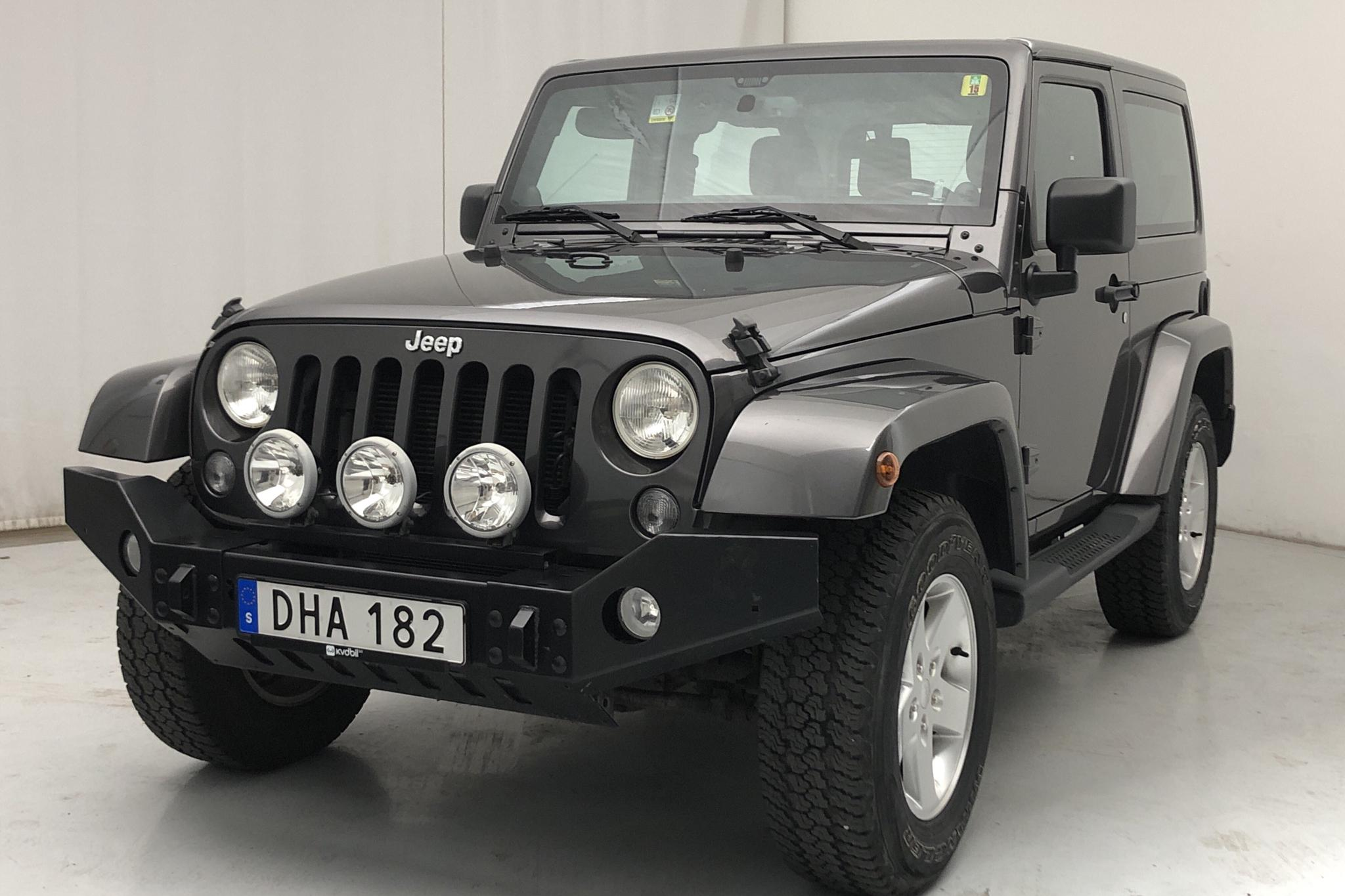 Jeep Wrangler 3.6 V6 2dr (284hk)