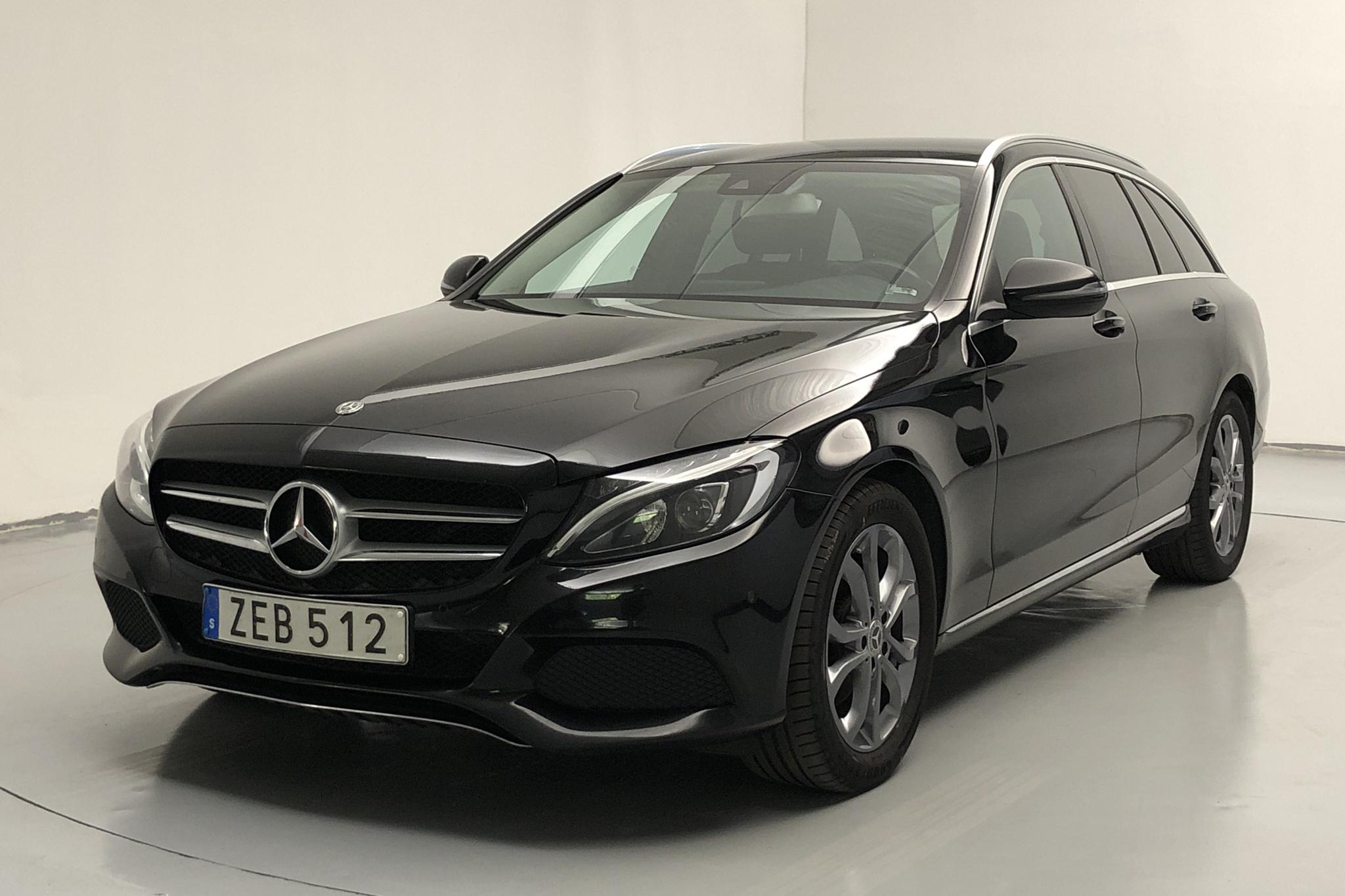 Mercedes C 220 d Kombi S205 (170hk) - 12 356 mil - Automat - svart - 2018