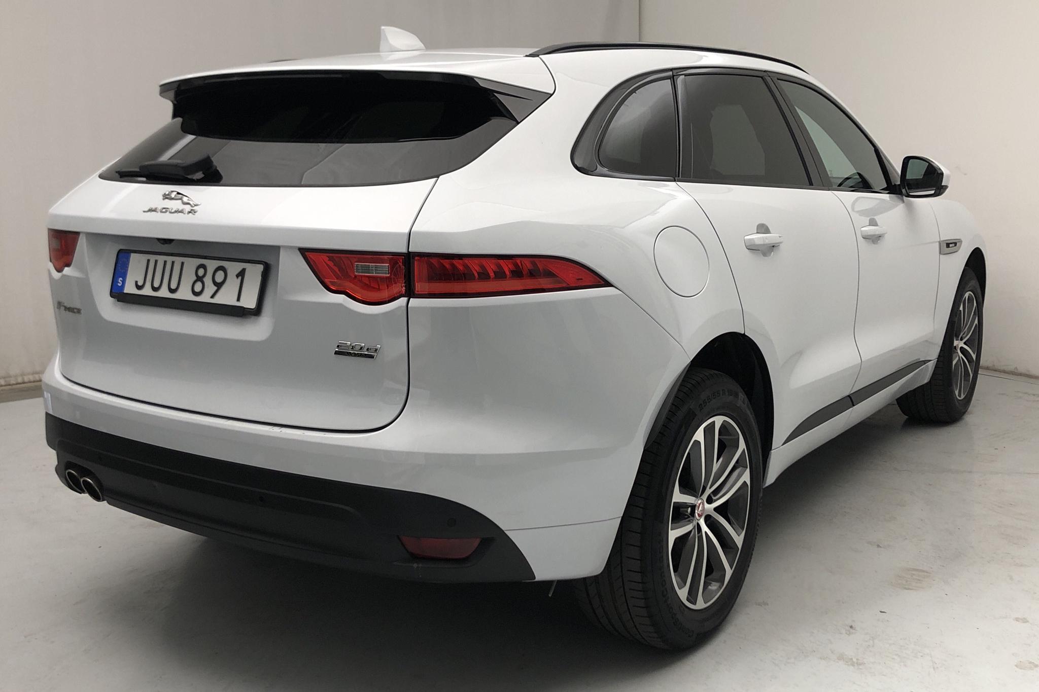 Jaguar F-Pace 20D AWD (180hk) - 10 880 mil - Automat - vit - 2018