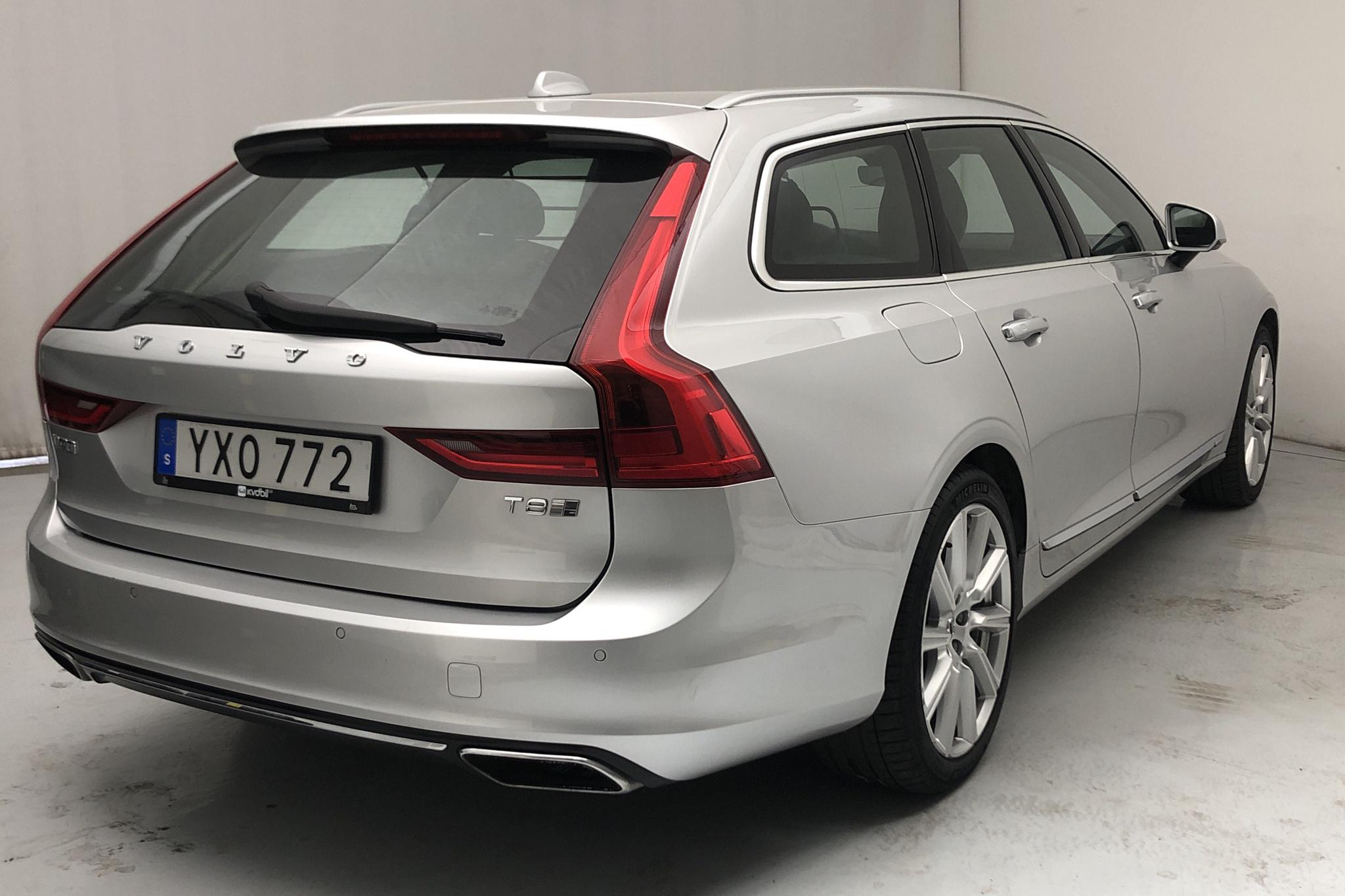 Volvo V90 T8 AWD Twin Engine (407hk) - 58 700 km - Automatic - silver - 2018