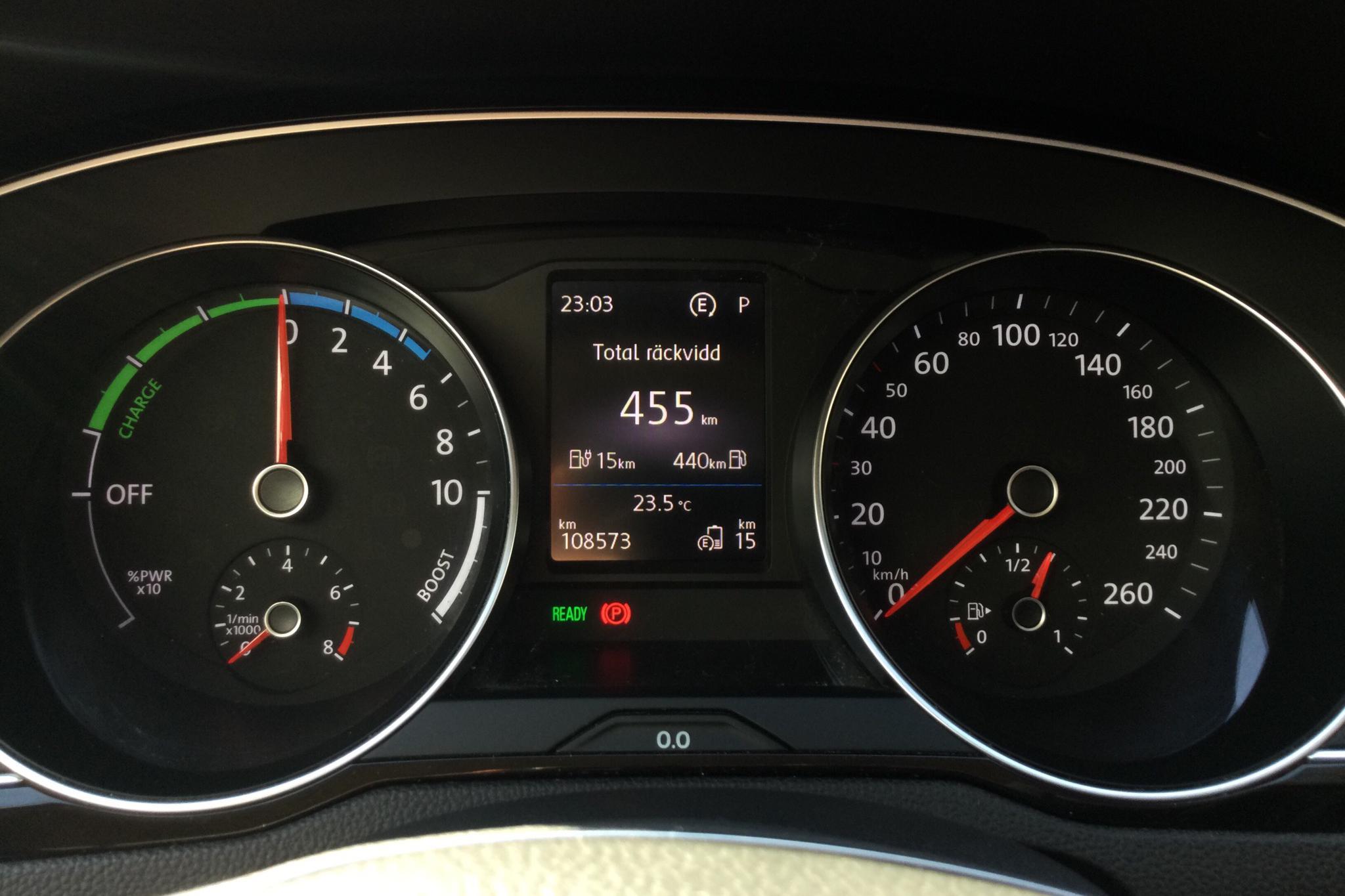 VW Passat 1.4 Plug-in-Hybrid Sportscombi (218hk) - 108 570 km - Automatic - black - 2018