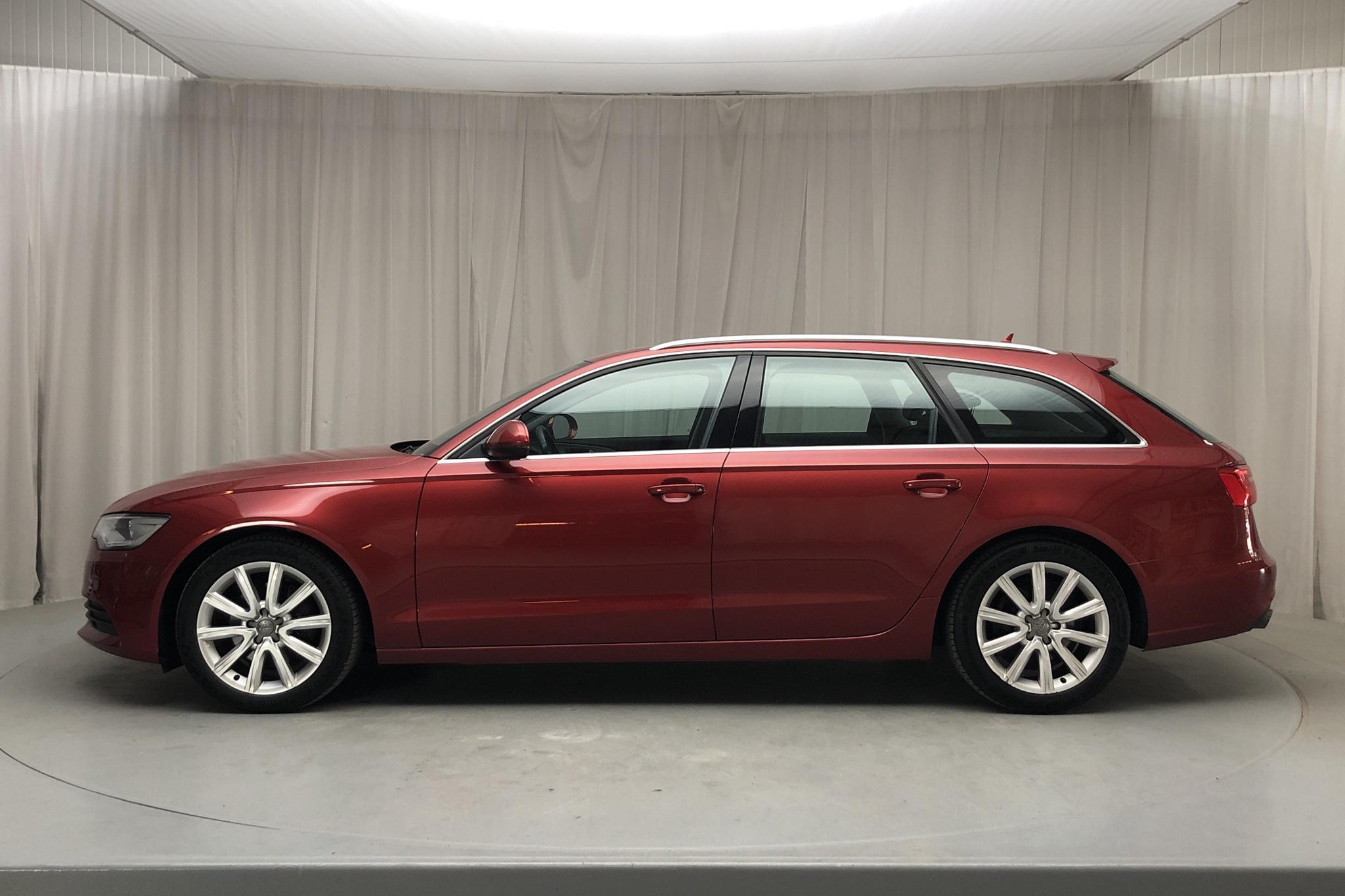 Audi A6 2.0 TDI Avant (177hk) - 11 795 mil - Manuell - röd - 2014