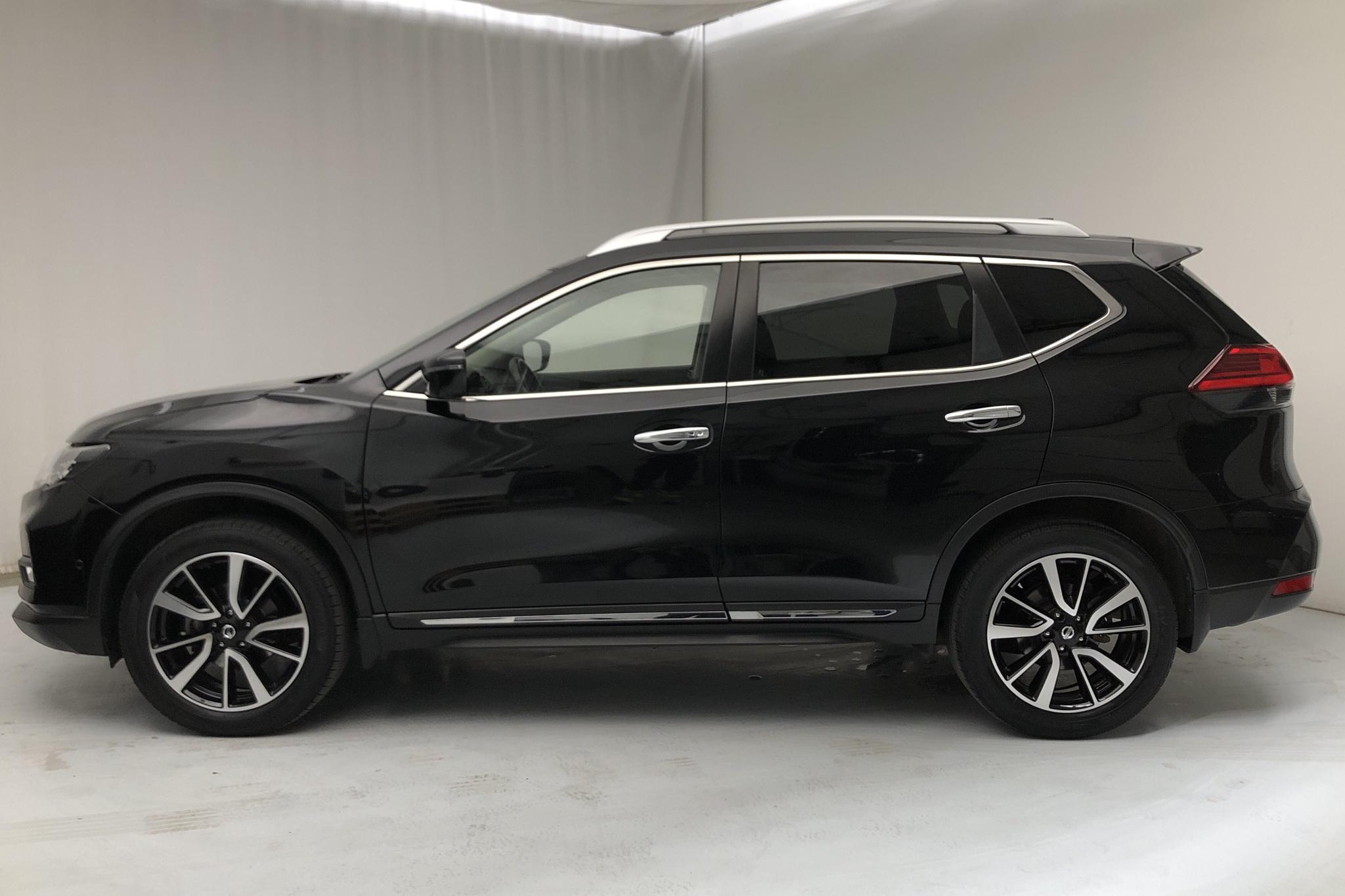 Nissan X-trail 1.6 dCi 2WD (130hk) - 4 501 mil - Automat - svart - 2017