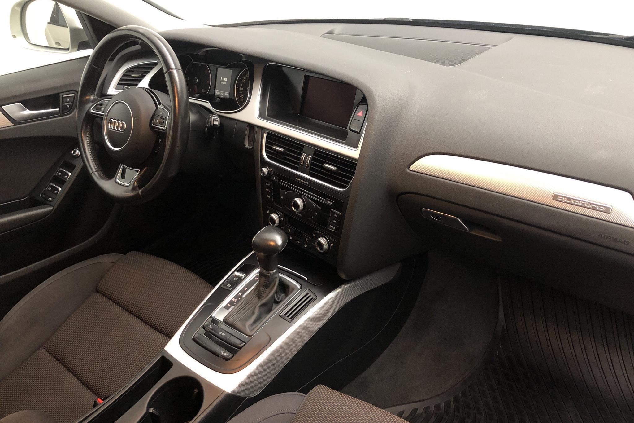 Audi A4 Allroad 2.0 TDI clean diesel Avant quattro (190hk) - 8 425 mil - Automat - silver - 2016