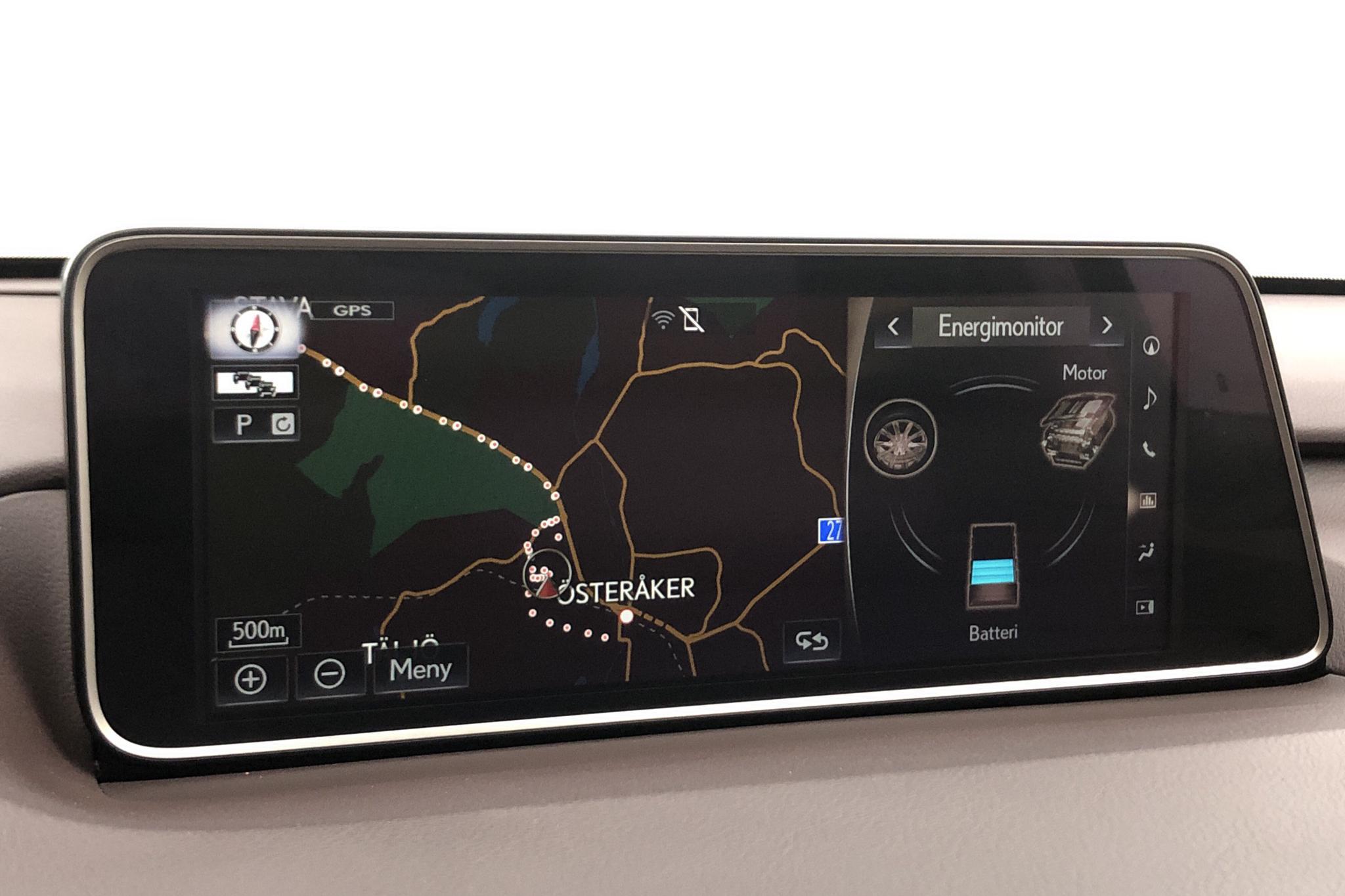 Lexus RX 450h AWD (313hk) - 8 266 mil - Automat - röd - 2016