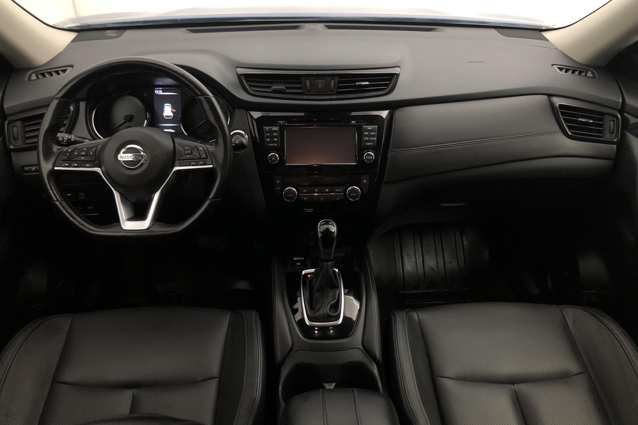Nissan X-trail 1.6 dCi 2WD (130hk) - 59 680 km - Automatic - blue - 2017