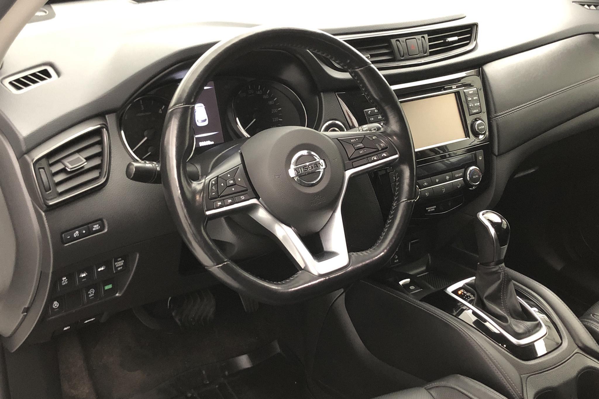 Nissan X-trail 1.6 dCi 2WD (130hk) - 5 035 mil - Automat - vit - 2017