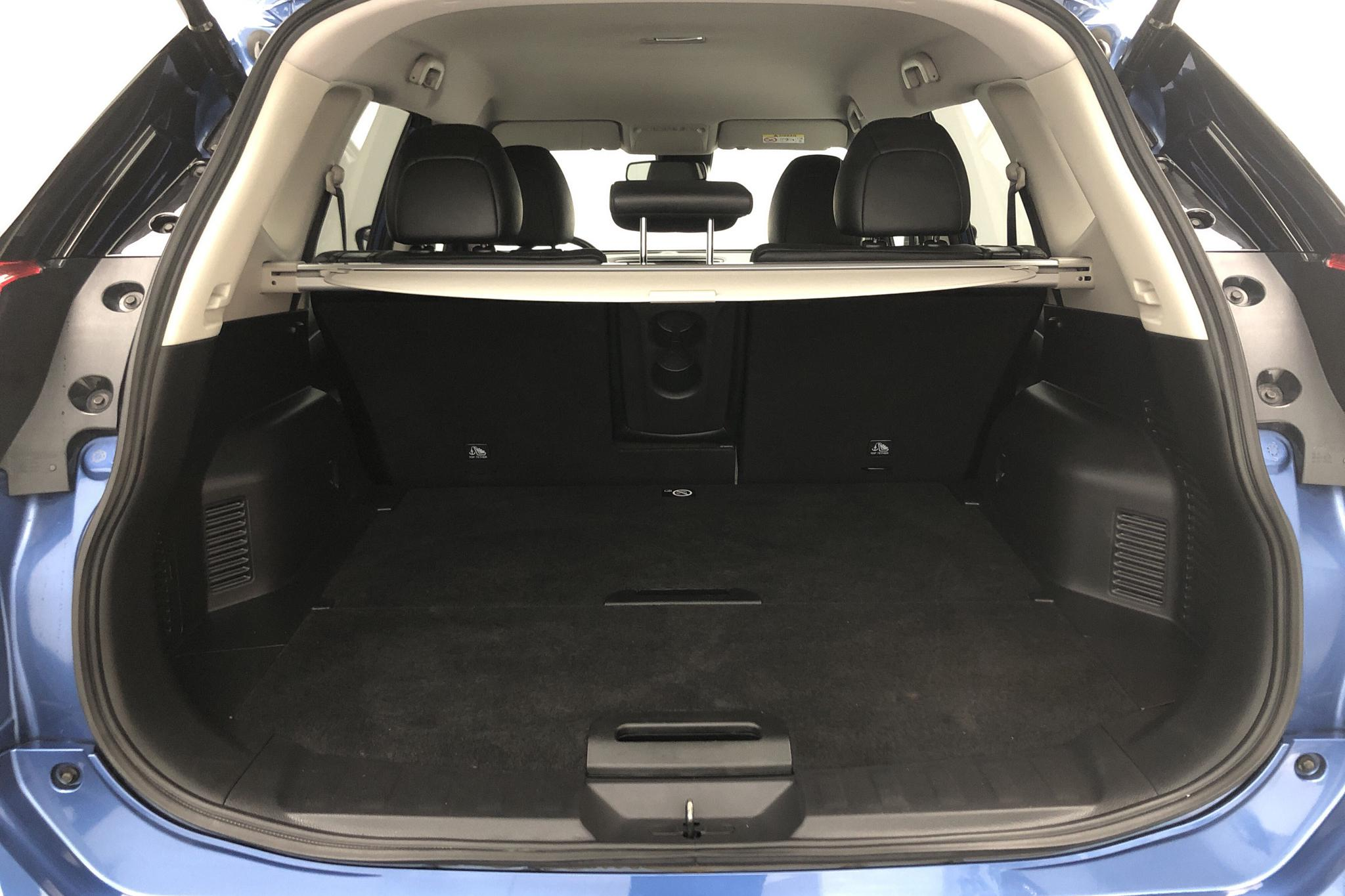 Nissan X-trail 1.6 dCi 2WD (130hk) - 5 237 mil - Automat - blå - 2017