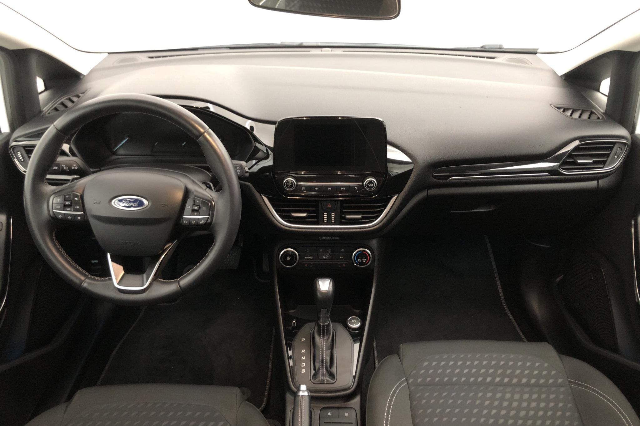 Ford Fiesta 1.0T EcoBoost 5dr (100hk) - 48 750 km - Automatic - white - 2018