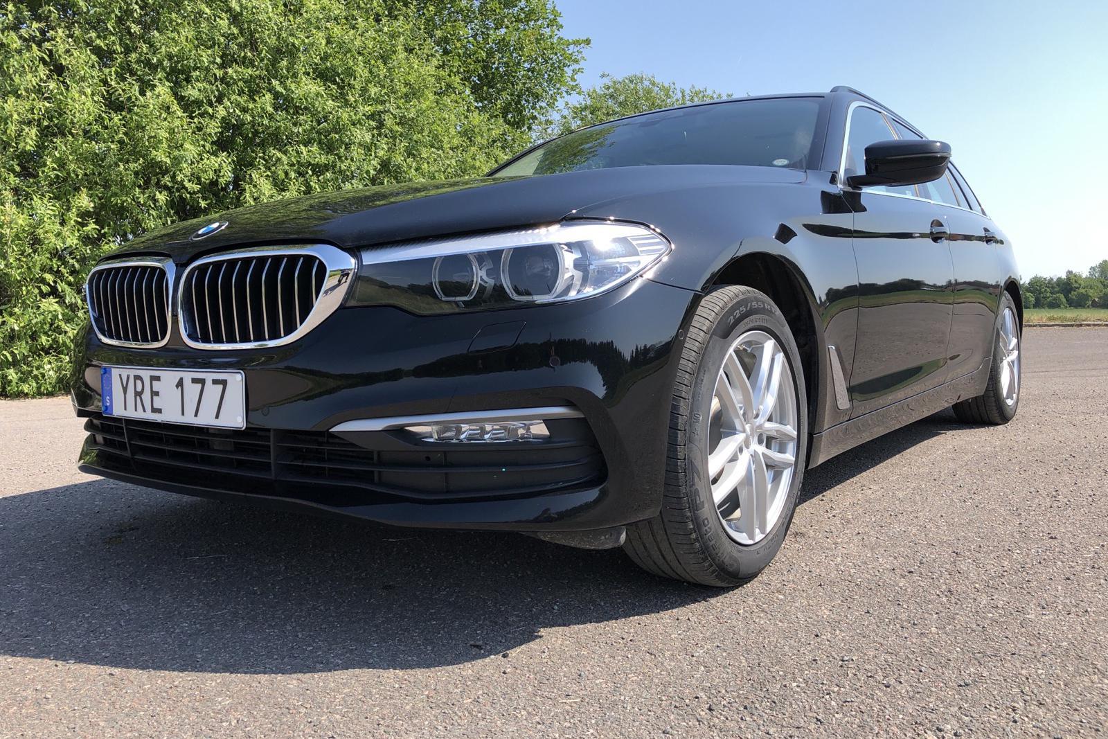 BMW 520d xDrive Touring, G31 (190hk) - 4 664 mil - Automat - svart - 2018