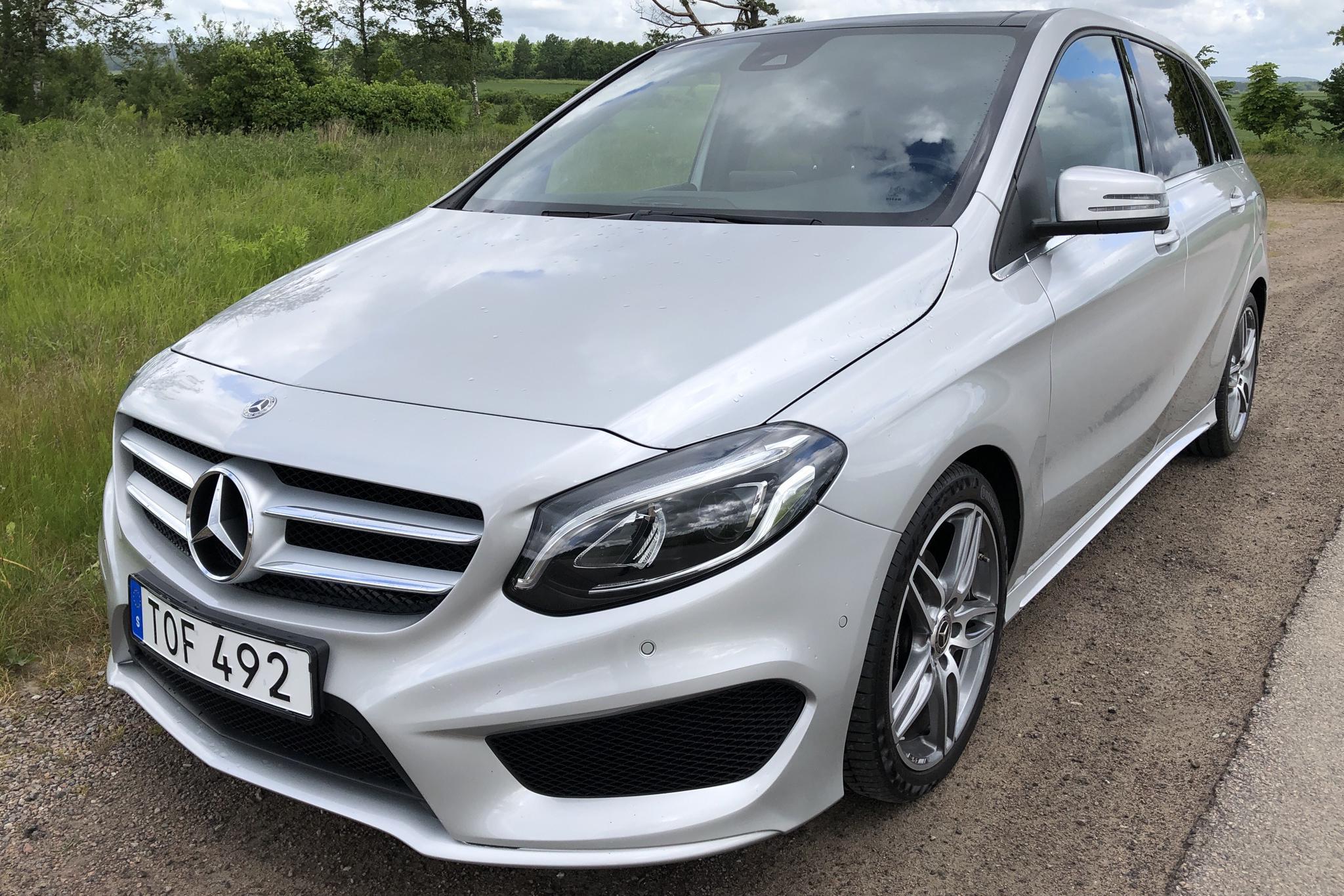 Mercedes B 200 d W246 (136hk)