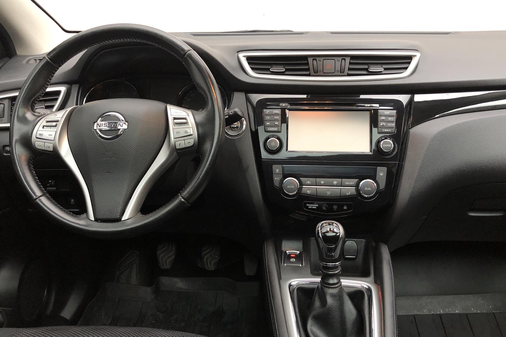 Nissan Qashqai 1.5 dCi (110hk) - 7 531 mil - Manuell - grå - 2016
