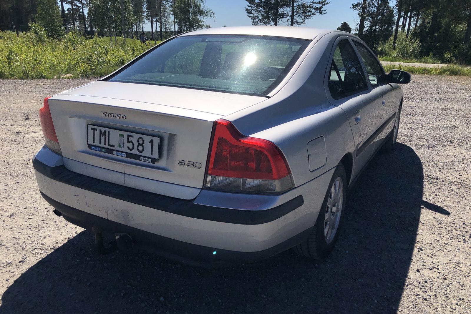 Volvo S60 2.4 (140hk) - 456 610 km - Manual - Light Grey - 2002