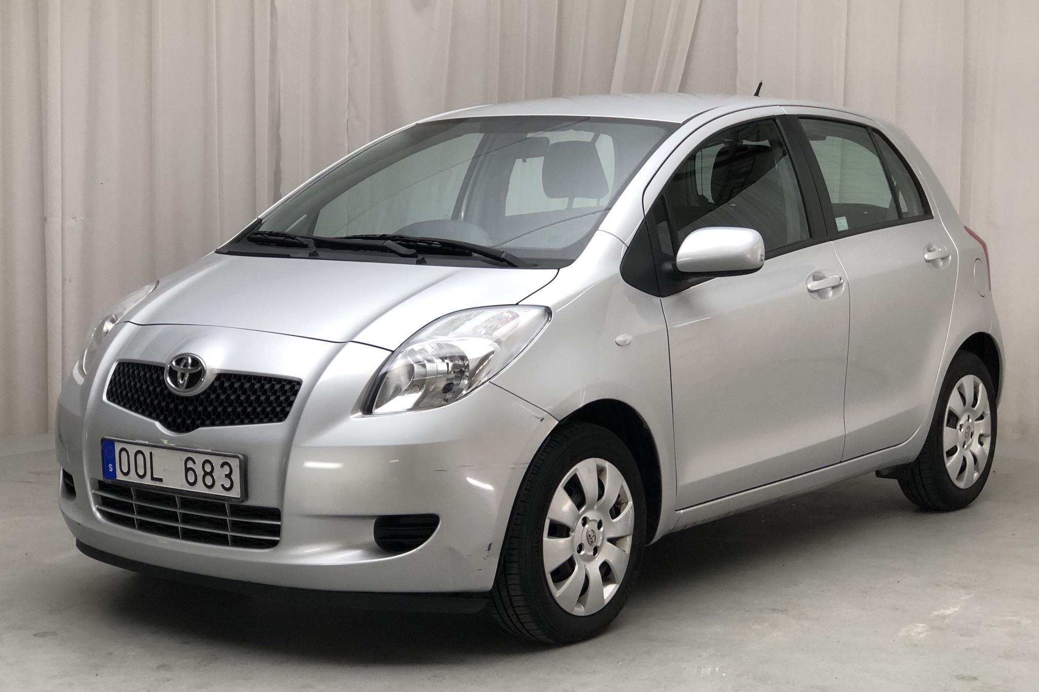 Toyota Yaris 1.0 5dr (69hk) - 41 700 km - Manual - silver - 2007