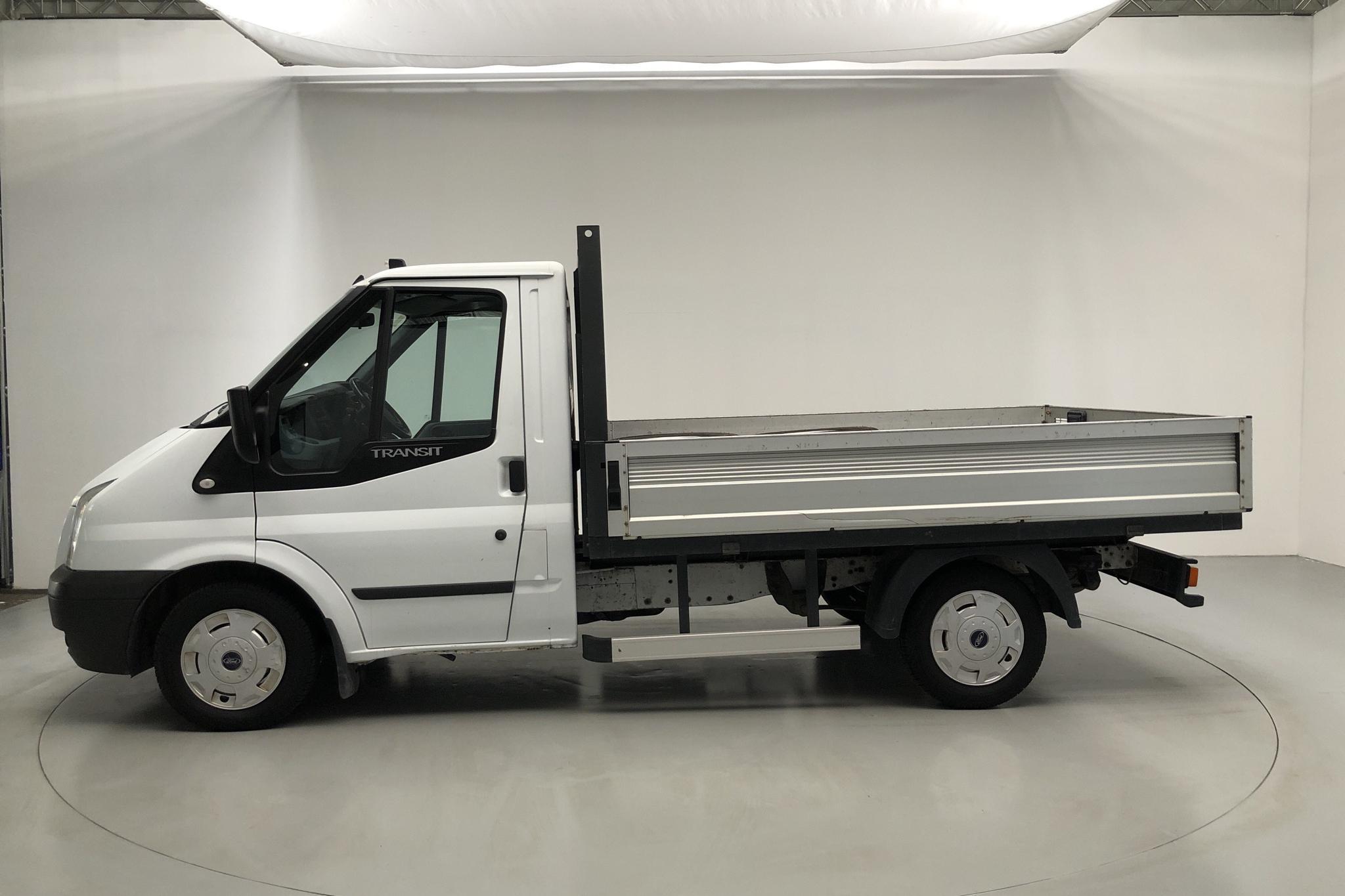 Ford Transit 300 2.2 TDCi Pickup (100hk) - 155 240 km - Manual - white - 2013