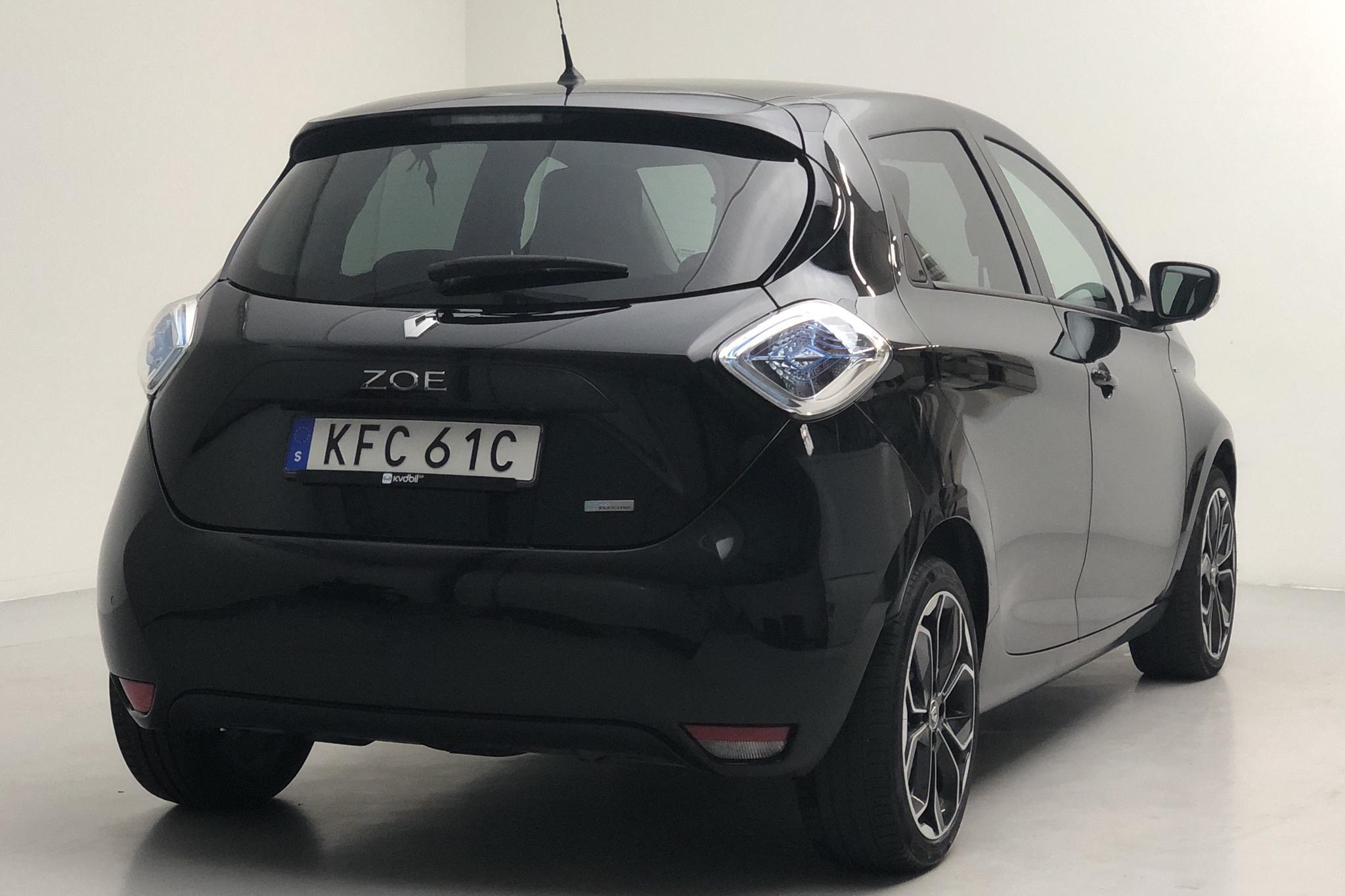 Renault Zoe 41 kWh R110 (108hk) - 52 760 km - Automatic - black - 2019