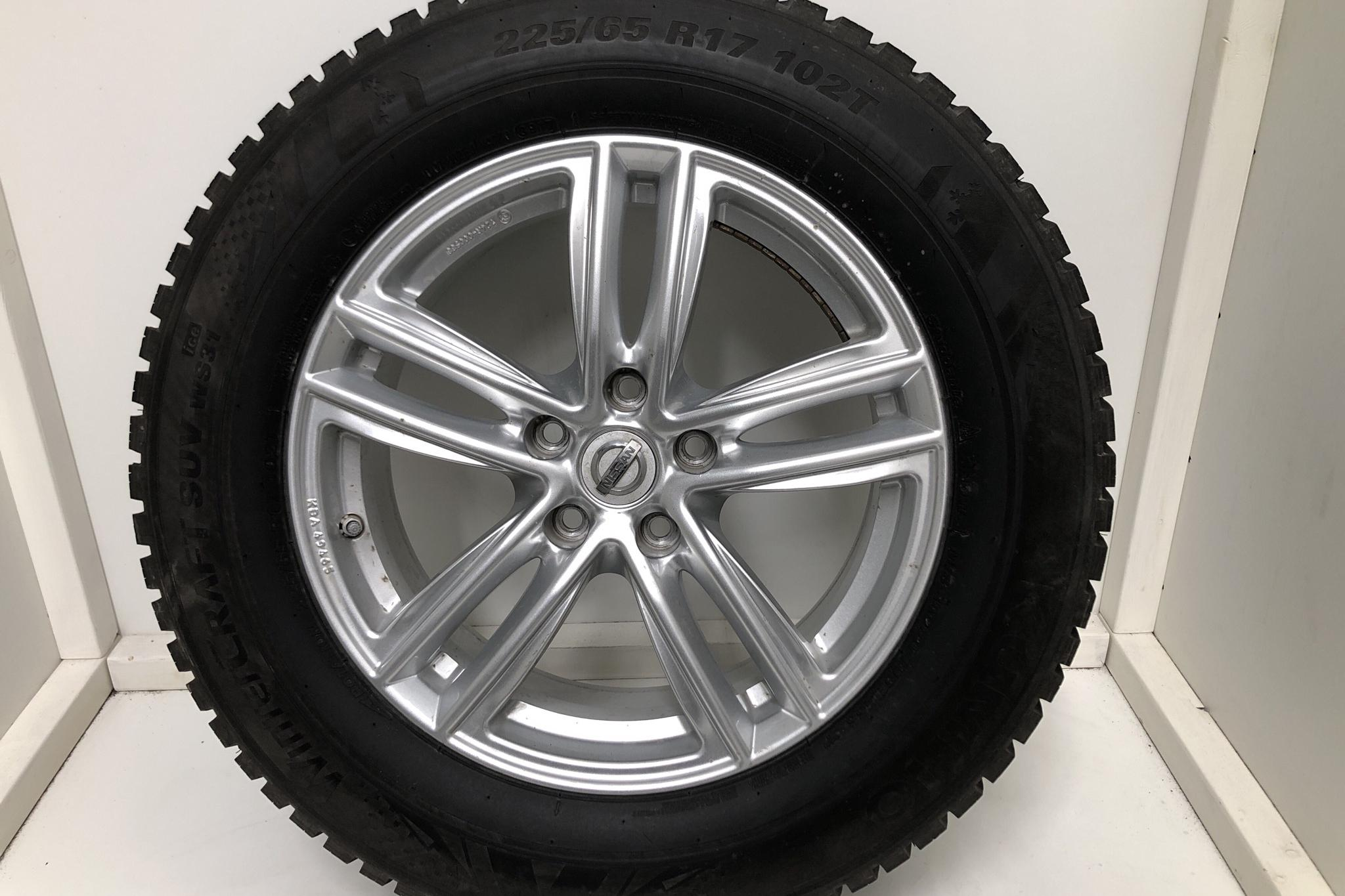 Nissan X-trail 1.6 dCi 2WD (130hk) - 4 484 mil - Automat - vit - 2017